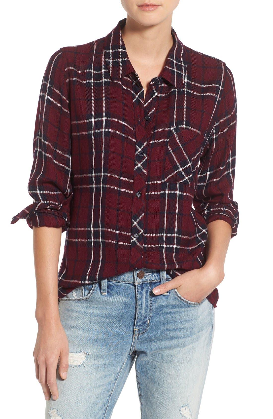 Hunter Plaid Shirt,                             Main thumbnail 134, color,