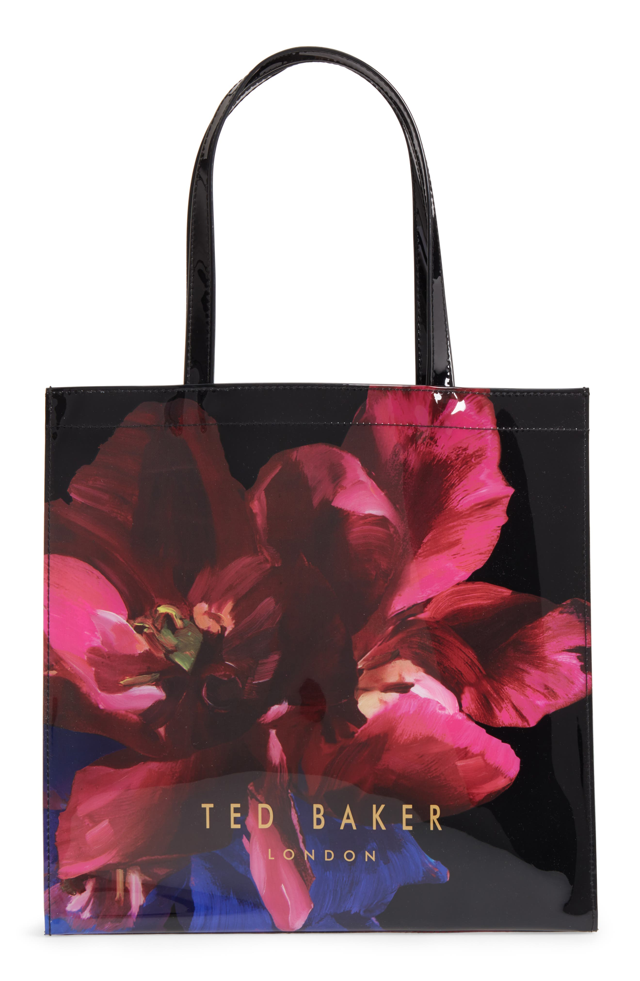 Large Icon - Impressionist Bloom Tote,                         Main,                         color, 001