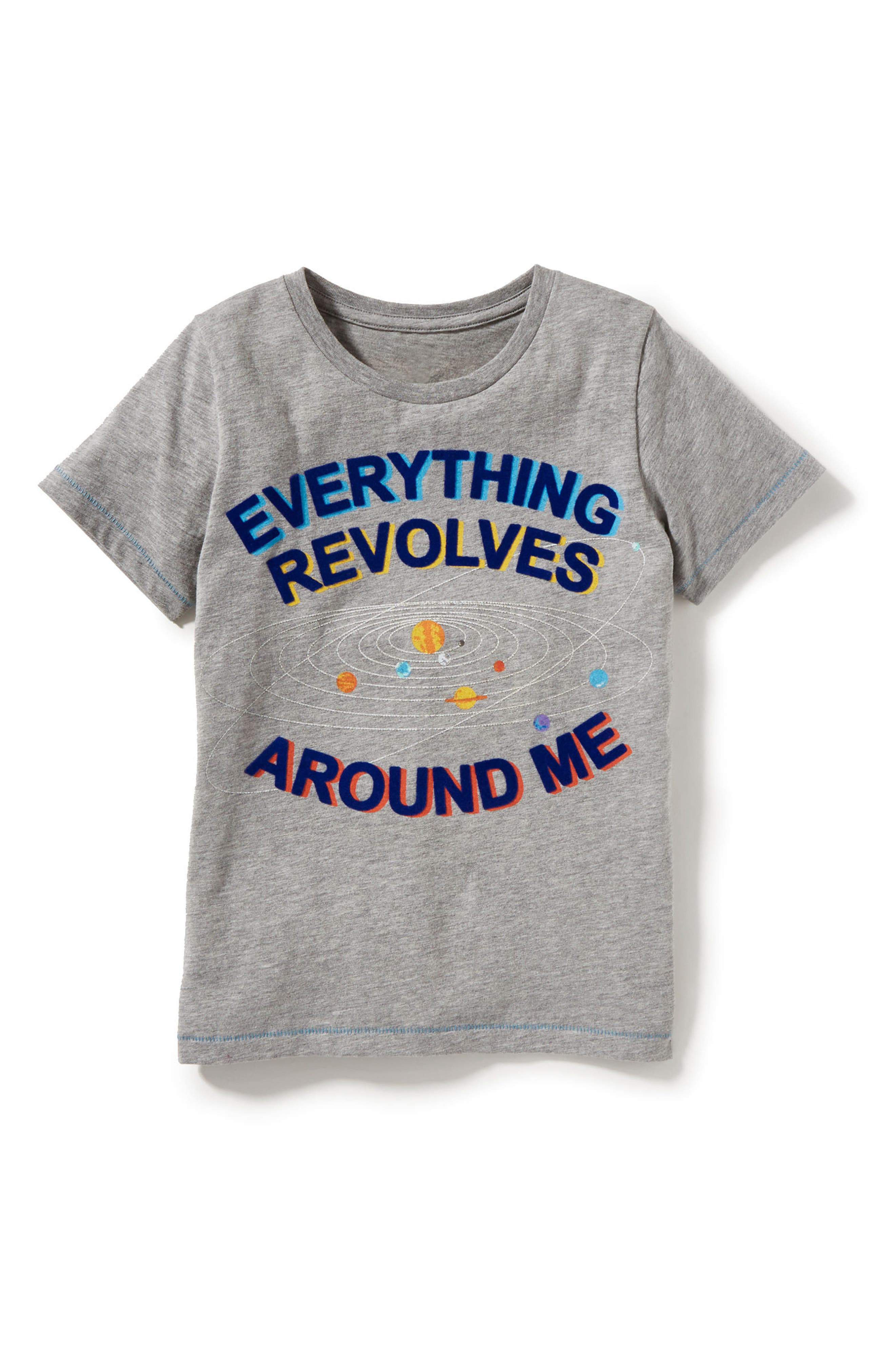 Everything Revolves Around Me T-Shirt,                             Alternate thumbnail 3, color,                             054