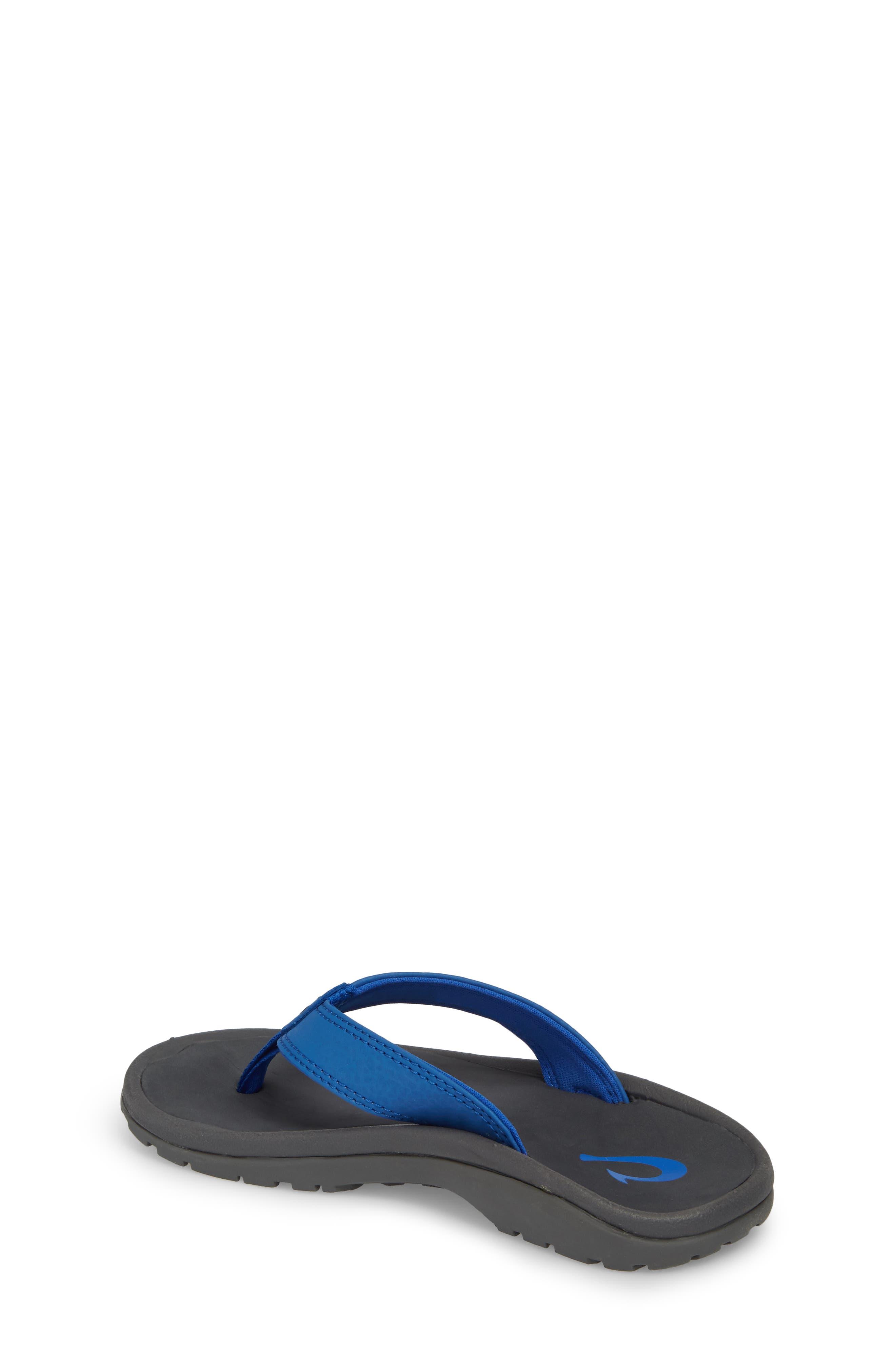 'Ohana' Sandal,                             Alternate thumbnail 2, color,                             AQUA BLUE/ DARK SHADOW