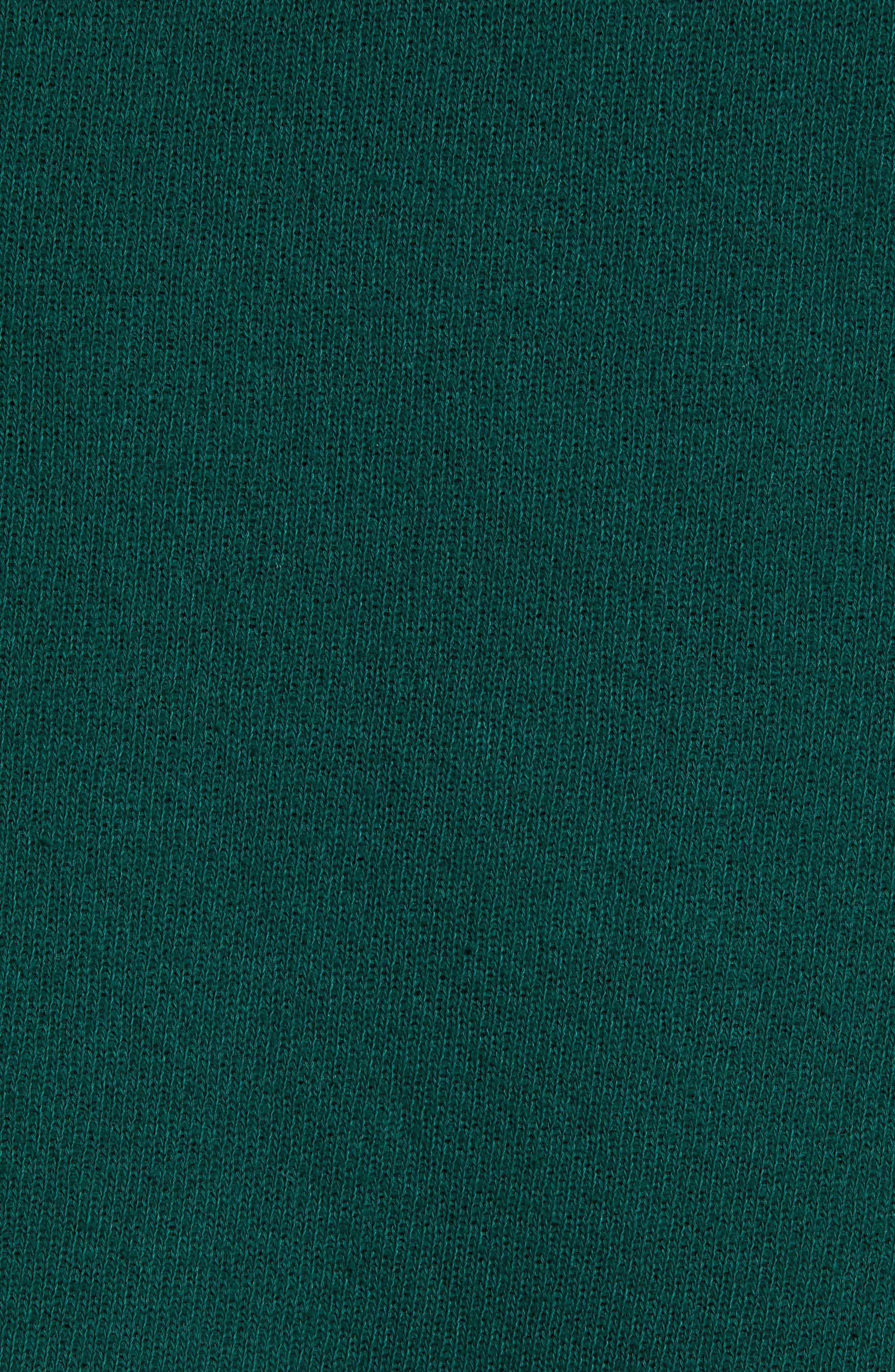 Warwick Quarter-Zip Hoodie Sweatshirt,                             Alternate thumbnail 5, color,                             HUNTER GREEN