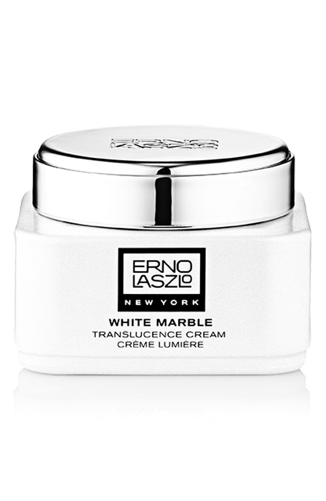 ERNO LASZLO,                             White Marble Translucence Cream,                             Main thumbnail 1, color,                             NO COLOR