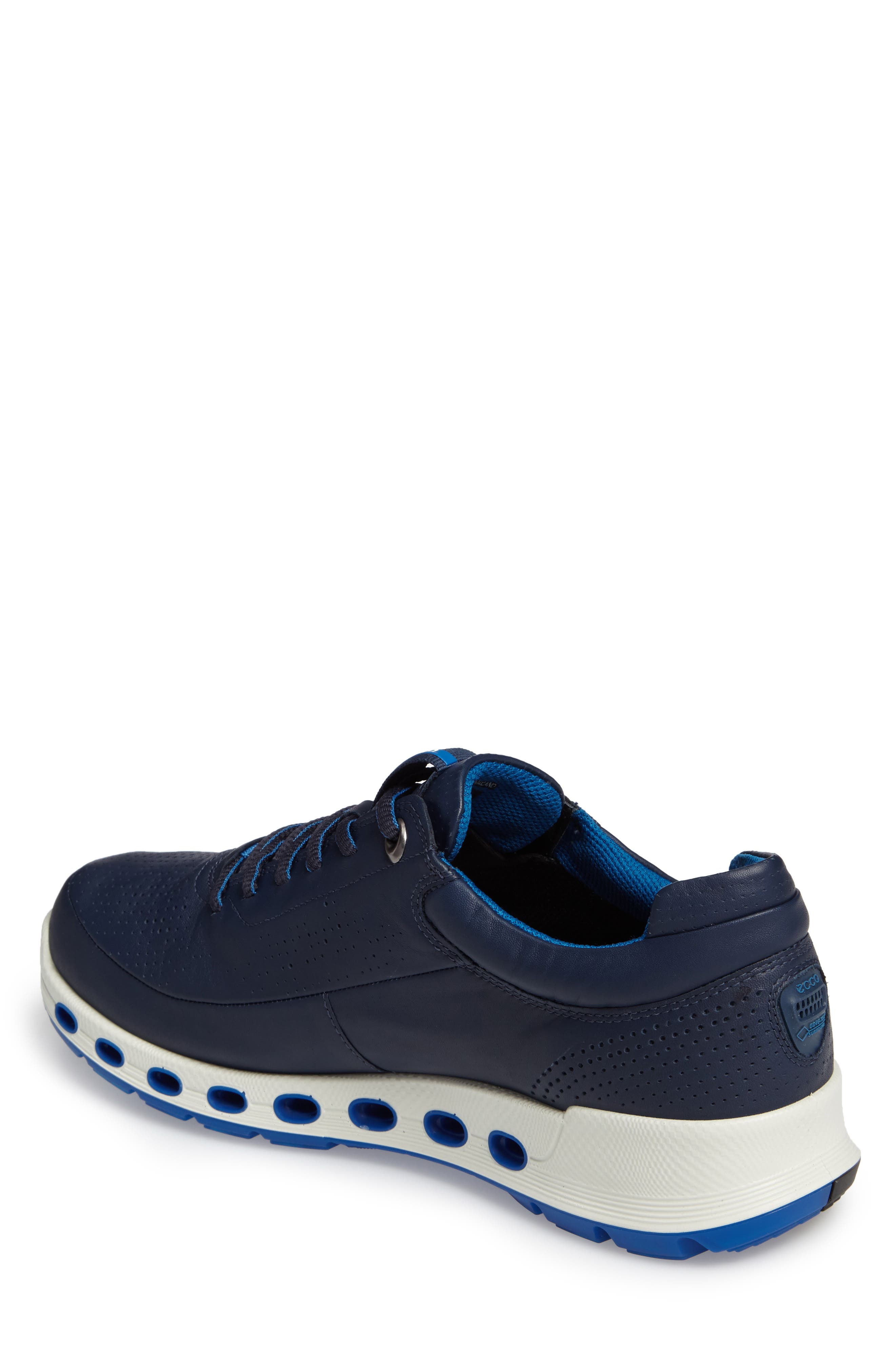 Cool 2.0 Leather GTX Sneaker,                             Alternate thumbnail 2, color,                             NAVY
