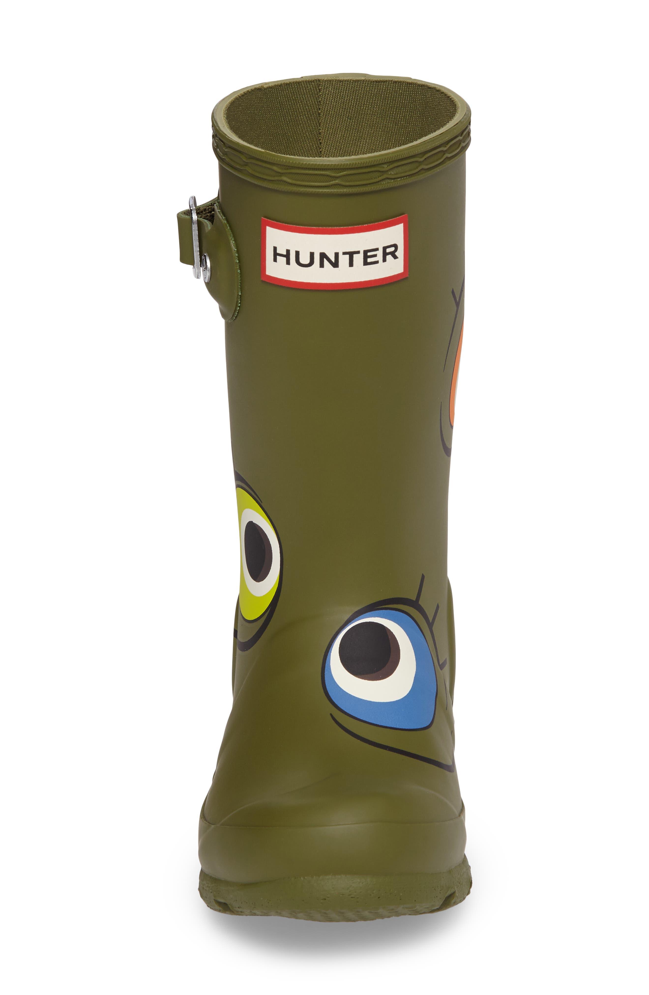 Alien Waterproof Rain Boot,                             Alternate thumbnail 4, color,                             309