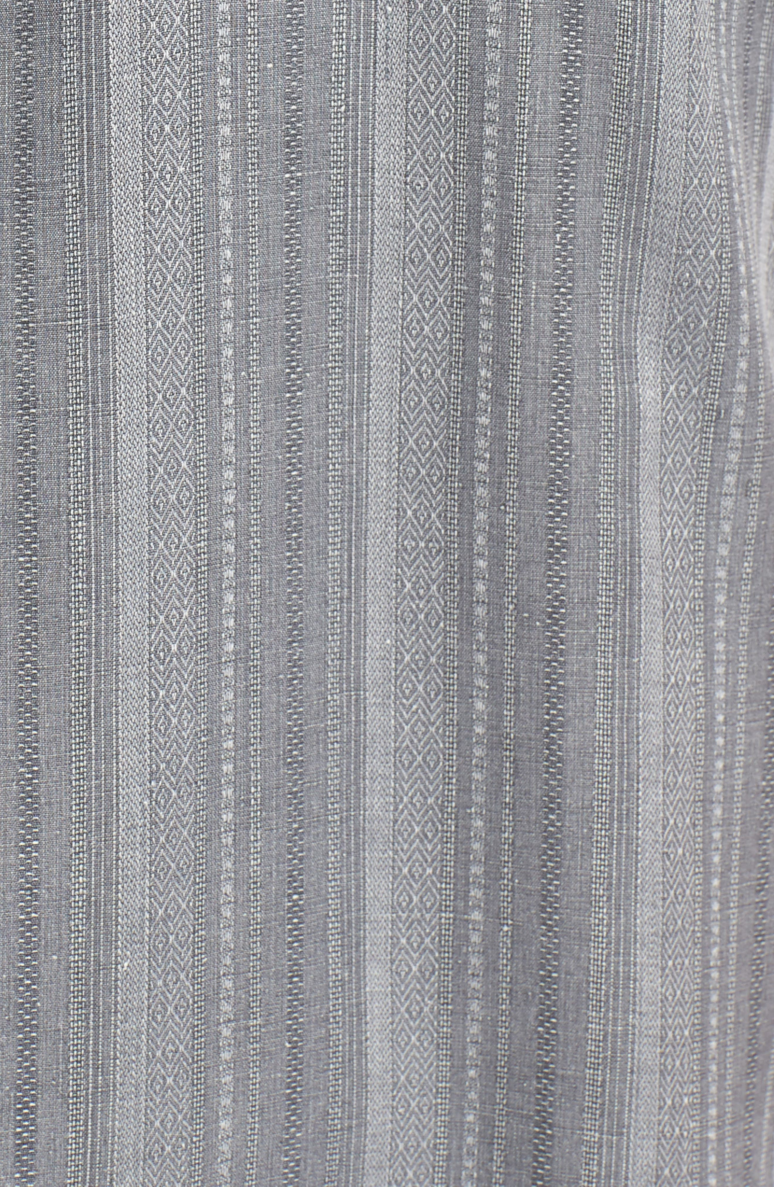 Zaldera Stripe Silk Camp Shirt,                             Alternate thumbnail 5, color,                             050