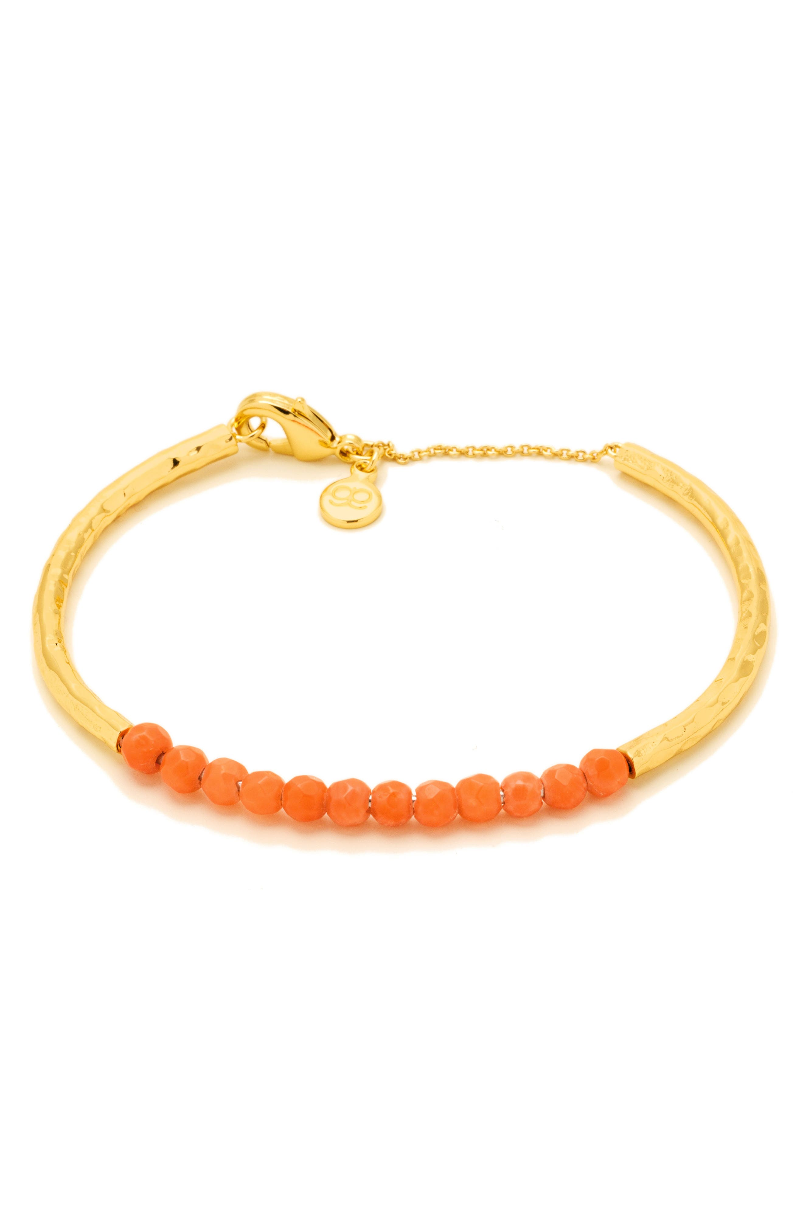 Power Stone Semiprecious Beaded Bracelet,                             Main thumbnail 8, color,