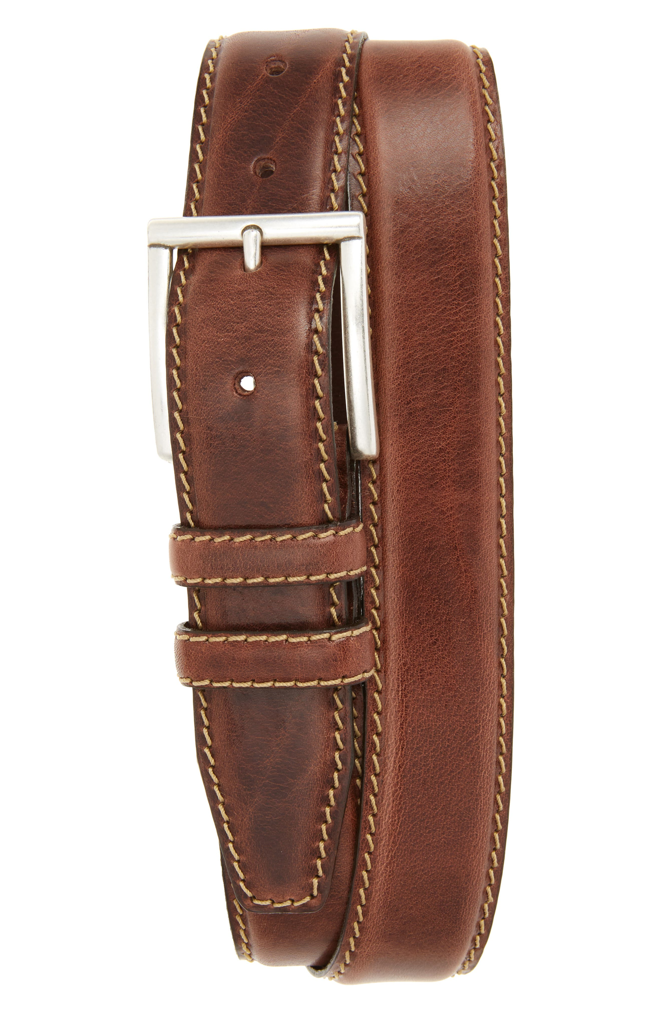 Sterling Ave Leather Belt,                             Main thumbnail 1, color,                             200