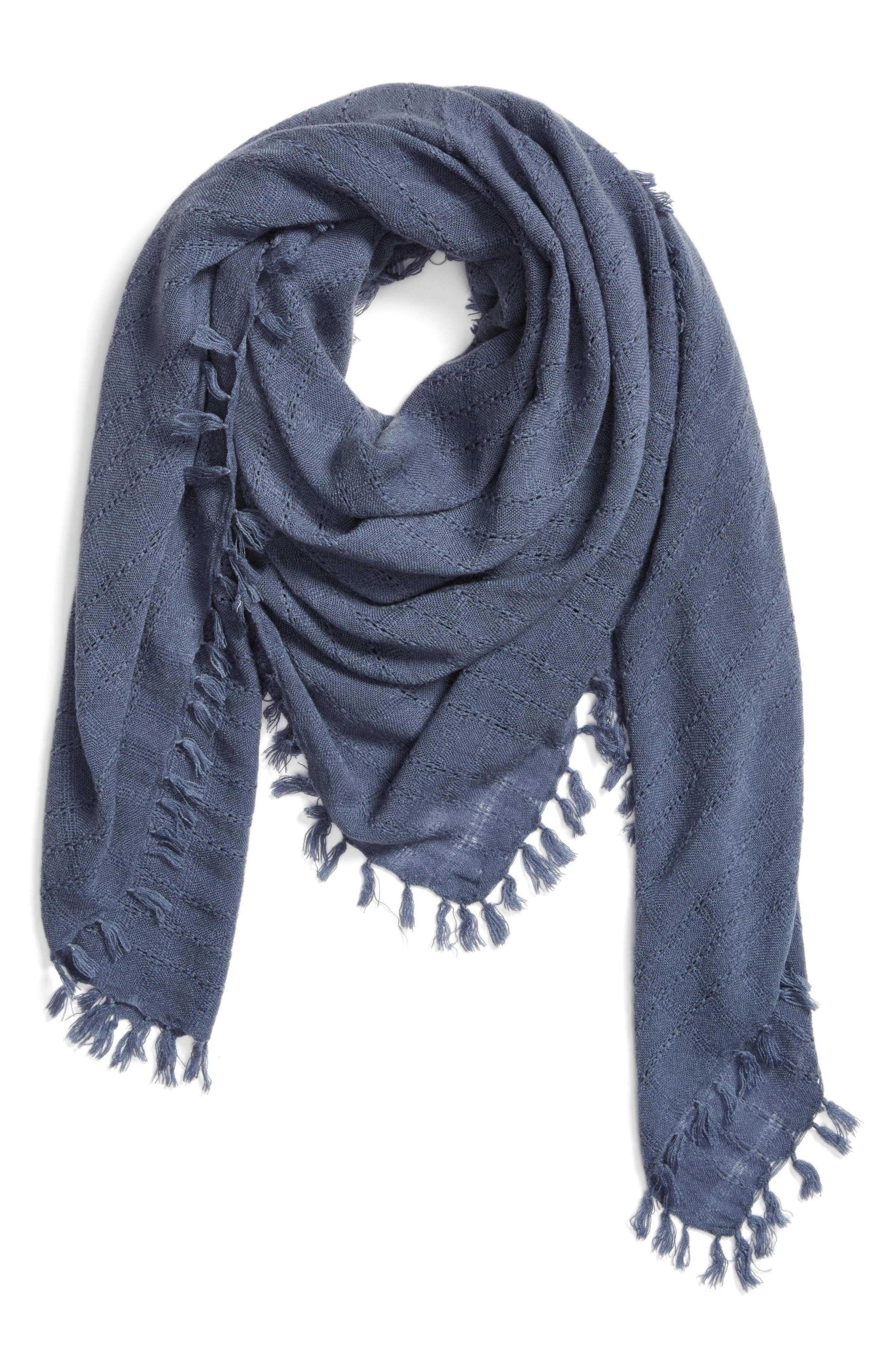 Knotted Tassel Scarf,                             Alternate thumbnail 8, color,