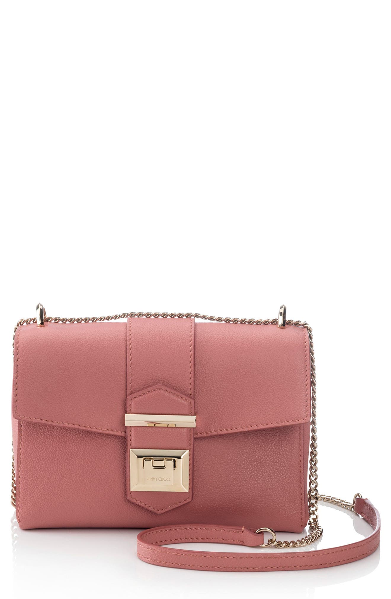 Marianne Leather Crossbody Bag, Main, color, ROSEWOOD