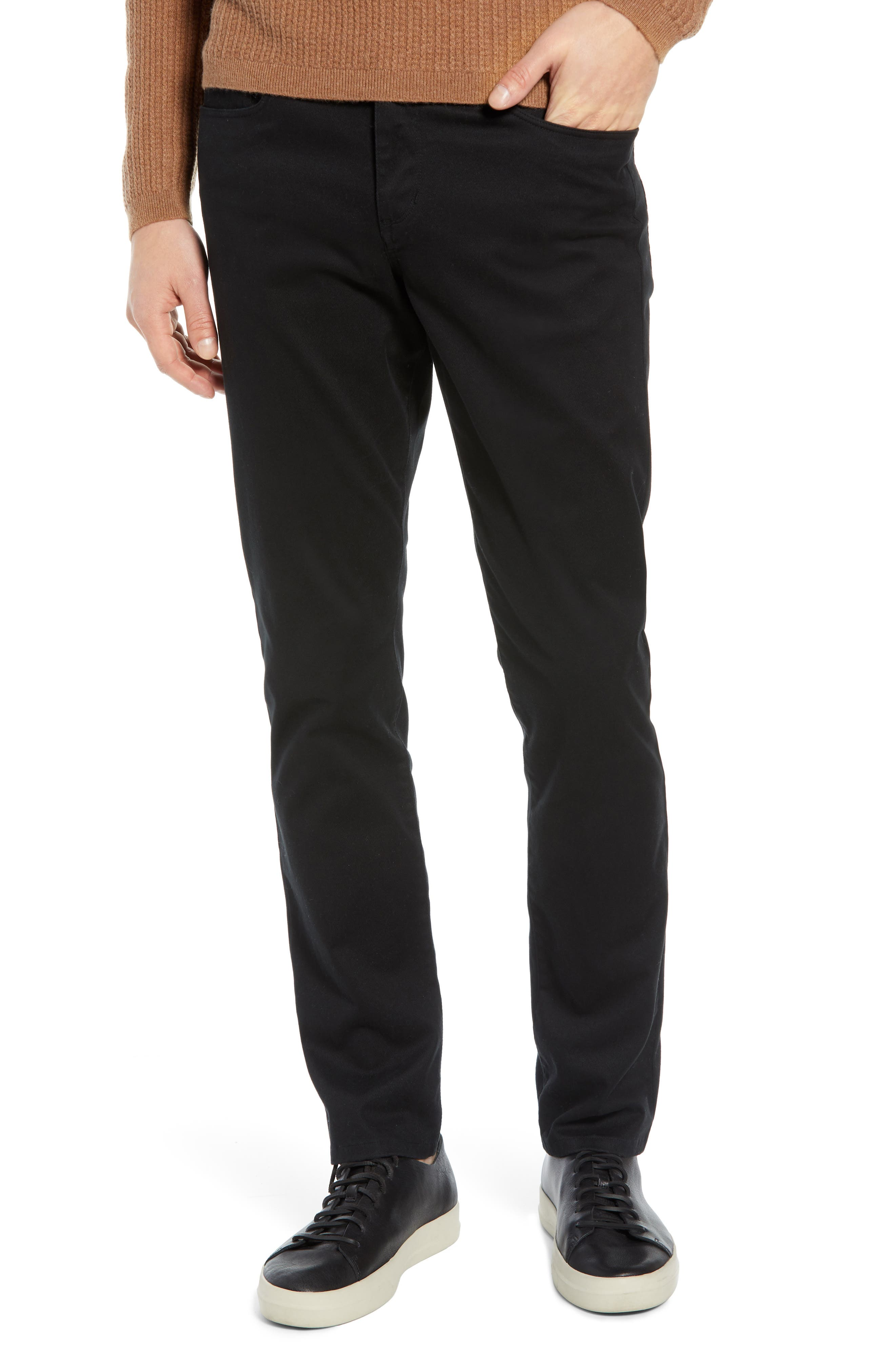 Slater Classic Fit Chinos,                         Main,                         color, BLACK