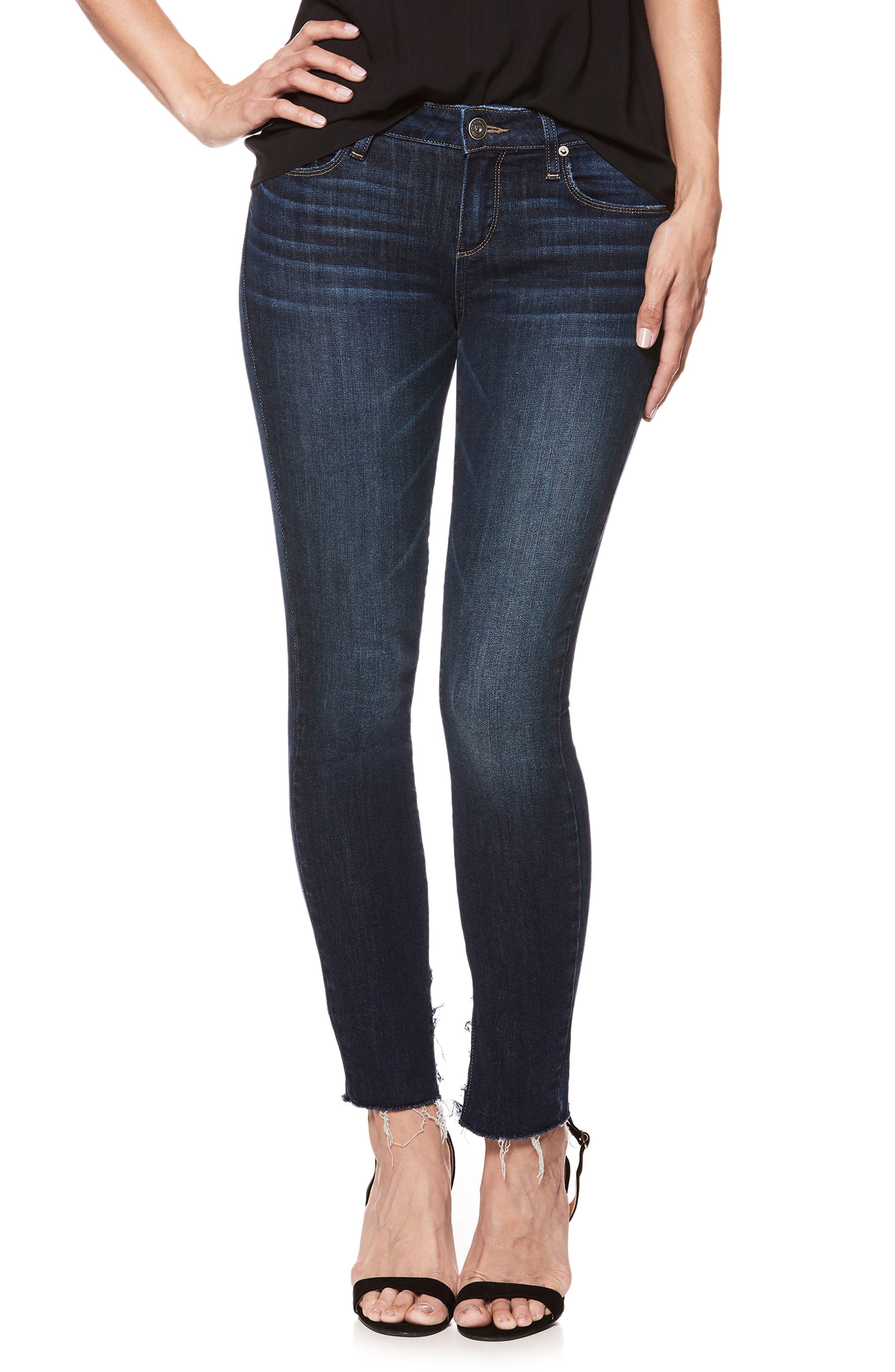Transcend Vintage - Verdugo Ankle Ultra Skinny Jeans,                         Main,                         color, 400