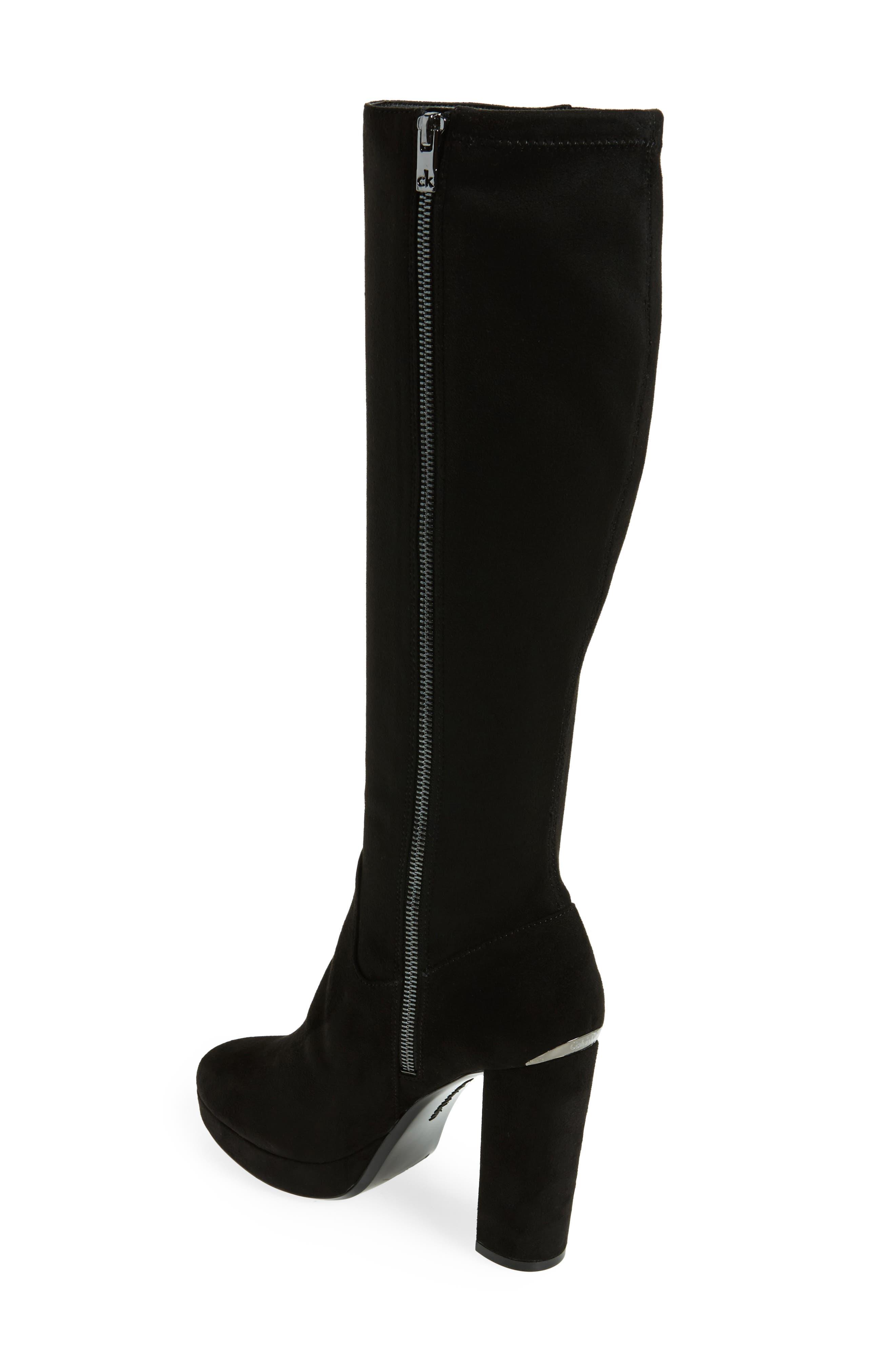Mailia Tall Boot,                             Alternate thumbnail 2, color,                             001