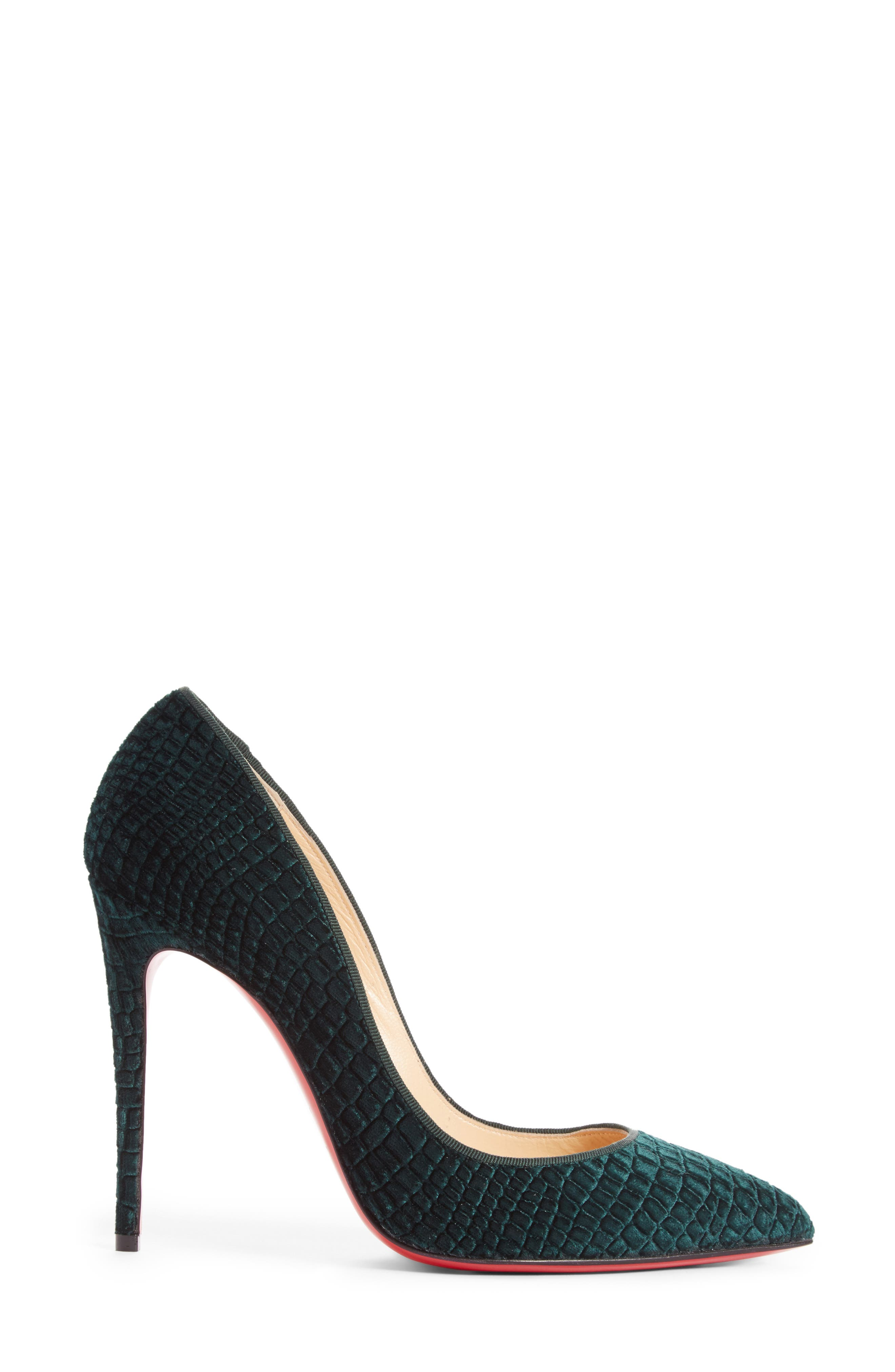 Pigalle Follies Pointy Toe Pump,                             Alternate thumbnail 3, color,                             300