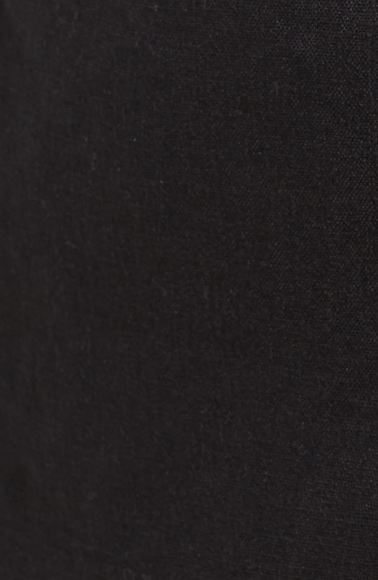 Organic Linen Sarong Shorts,                             Alternate thumbnail 5, color,                             001