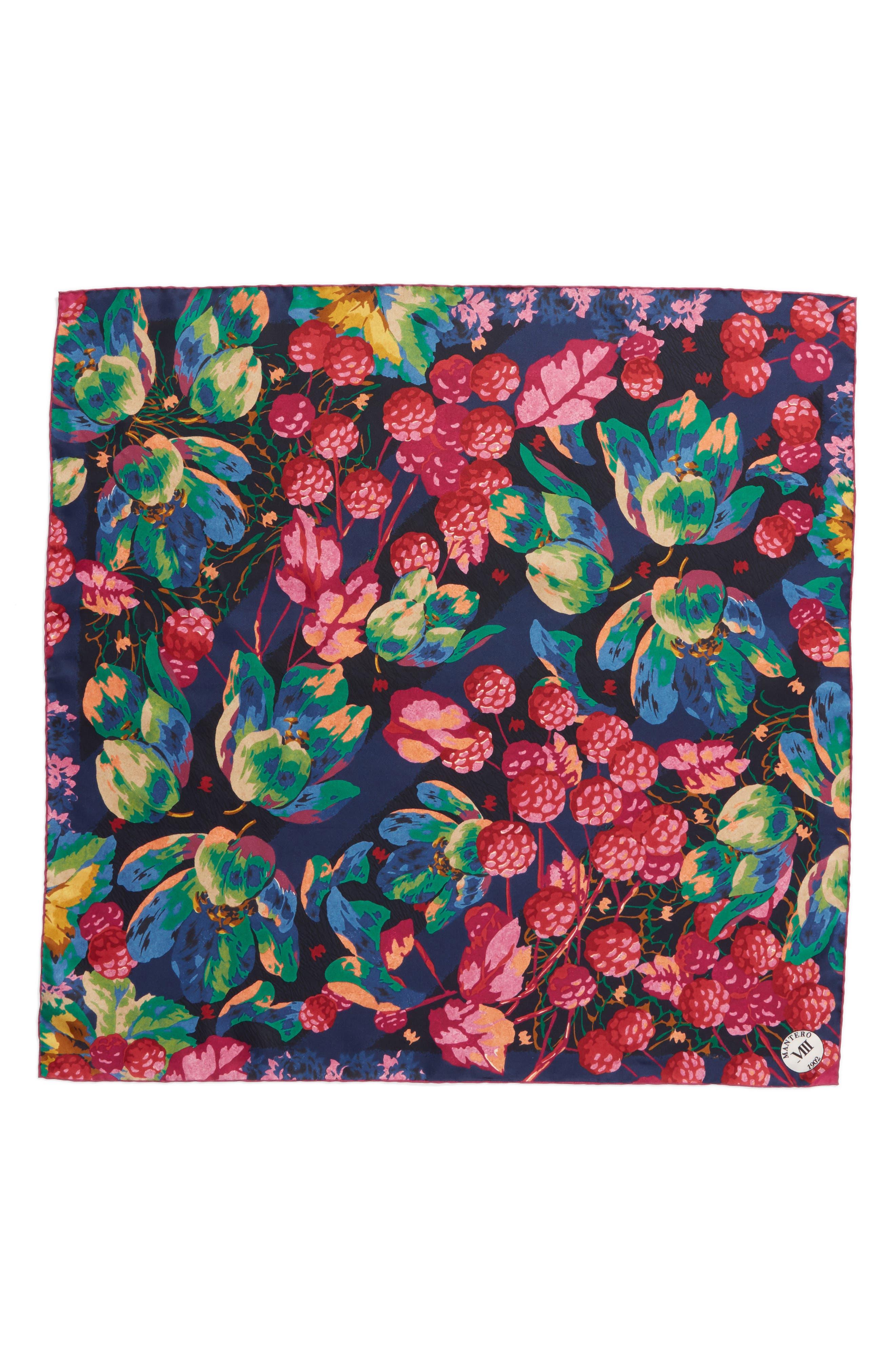 Confettura Square Silk Scarf,                             Main thumbnail 1, color,                             400