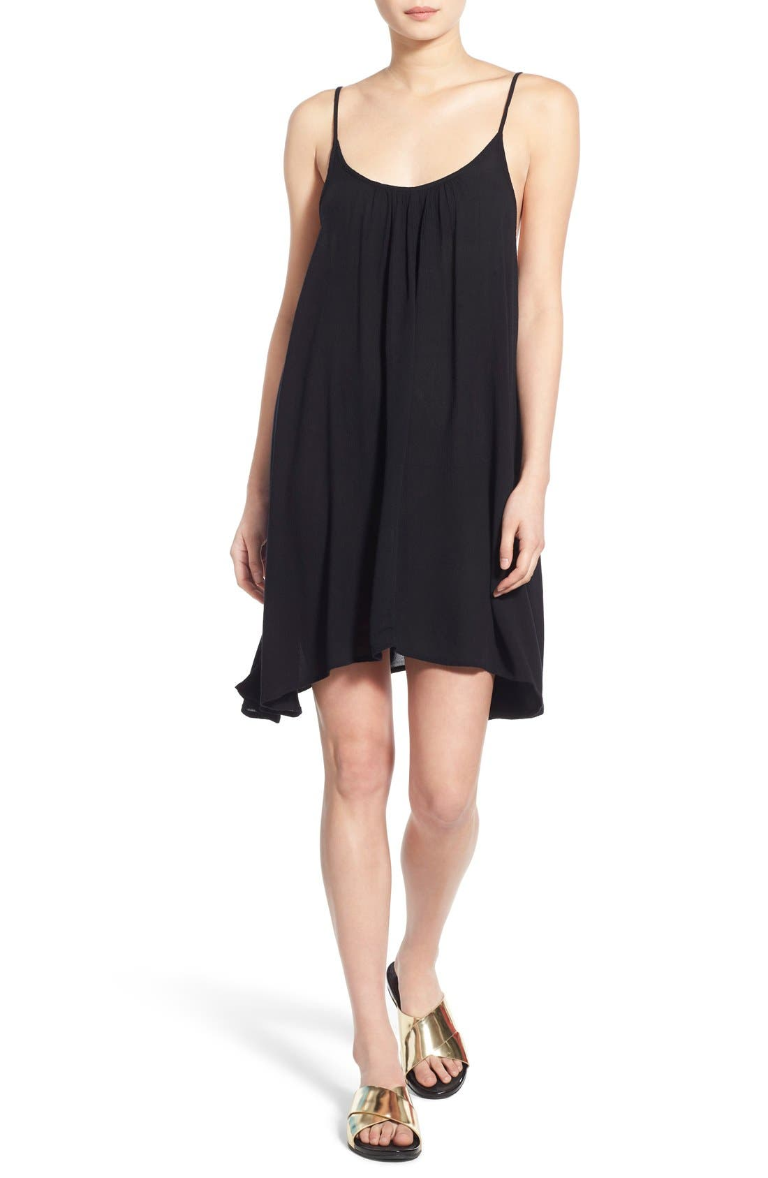 'Windy' Scoop Neck Shift Dress,                             Main thumbnail 2, color,