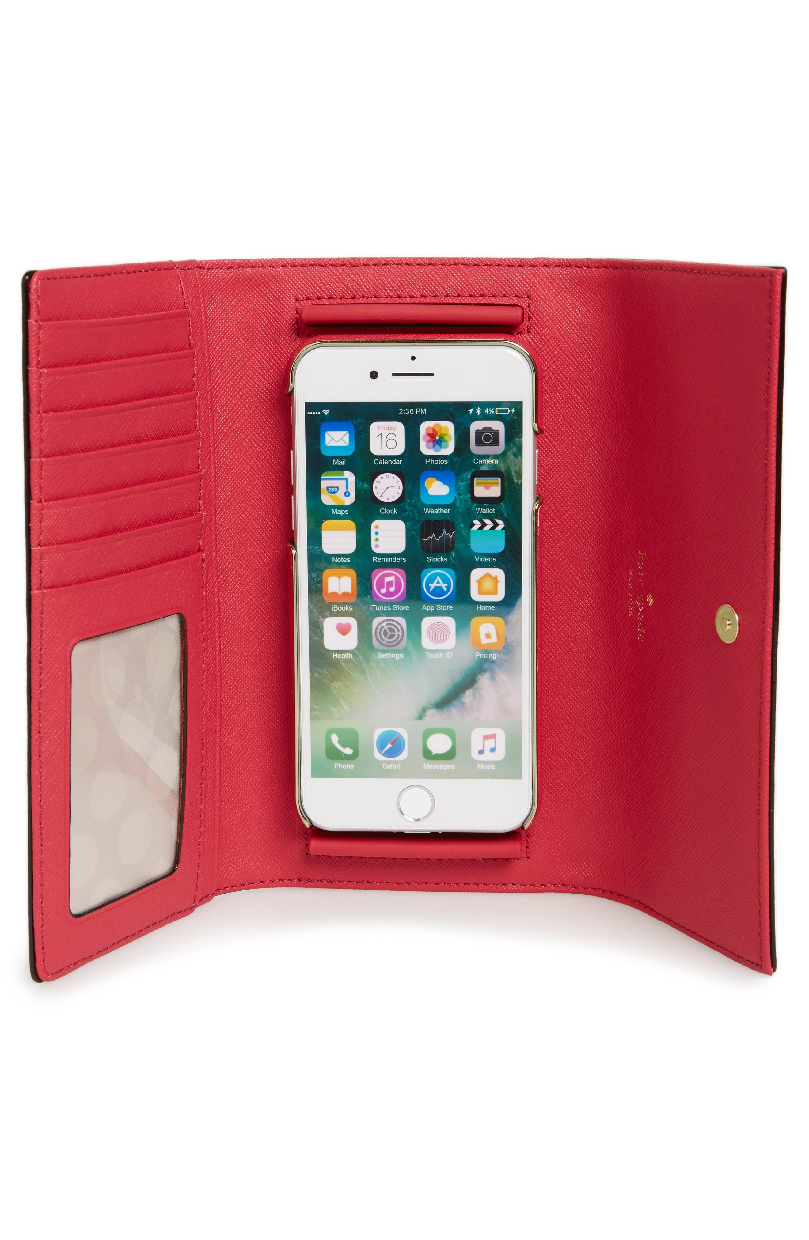 leather iPhone 7/8 & 7/8 Plus case,                             Alternate thumbnail 16, color,