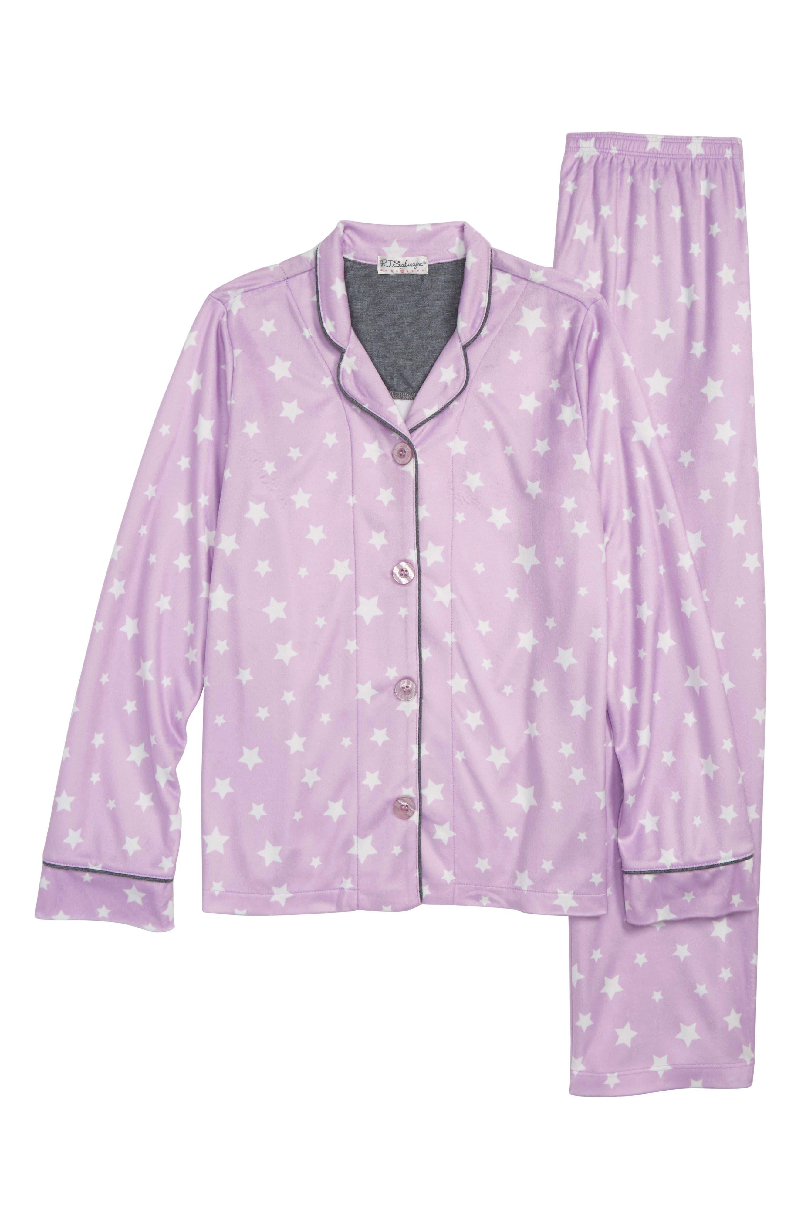 Girls Pj Salvage Written In The Stars TwoPiece Pajamas