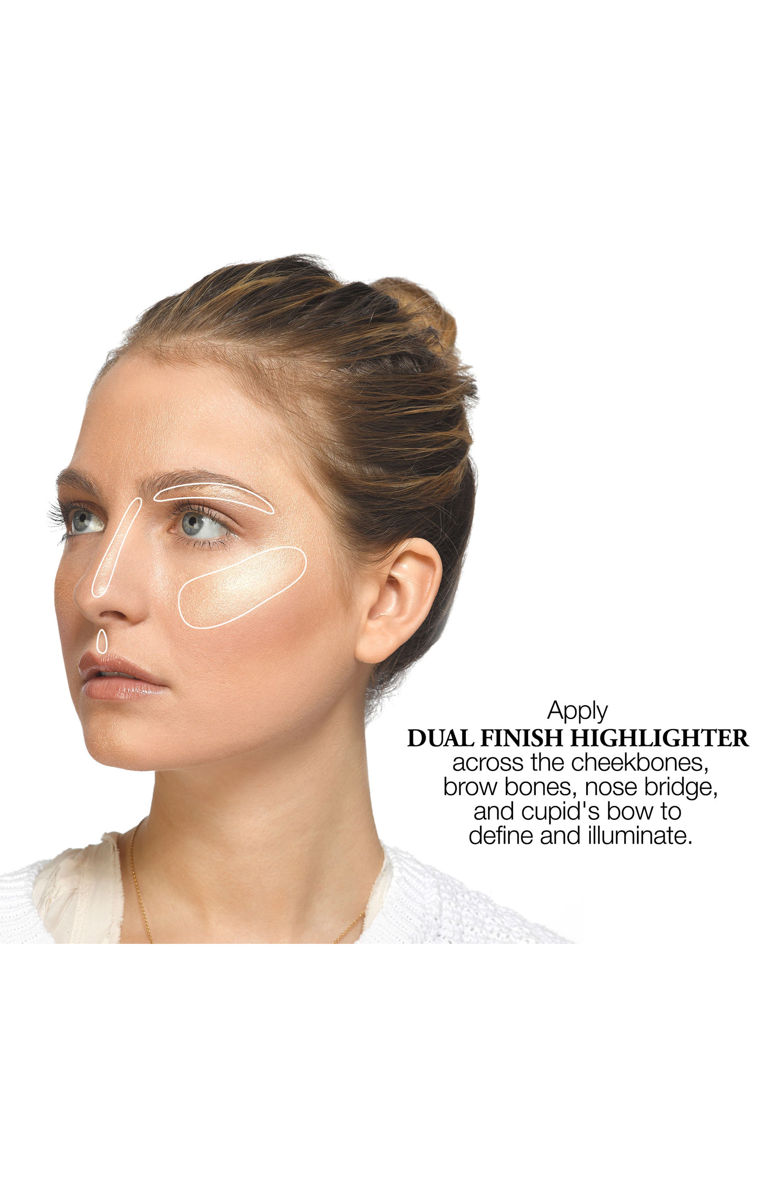 Dual Finish Highlighter,                             Alternate thumbnail 3, color,                             04 DAZZLING BRONZE