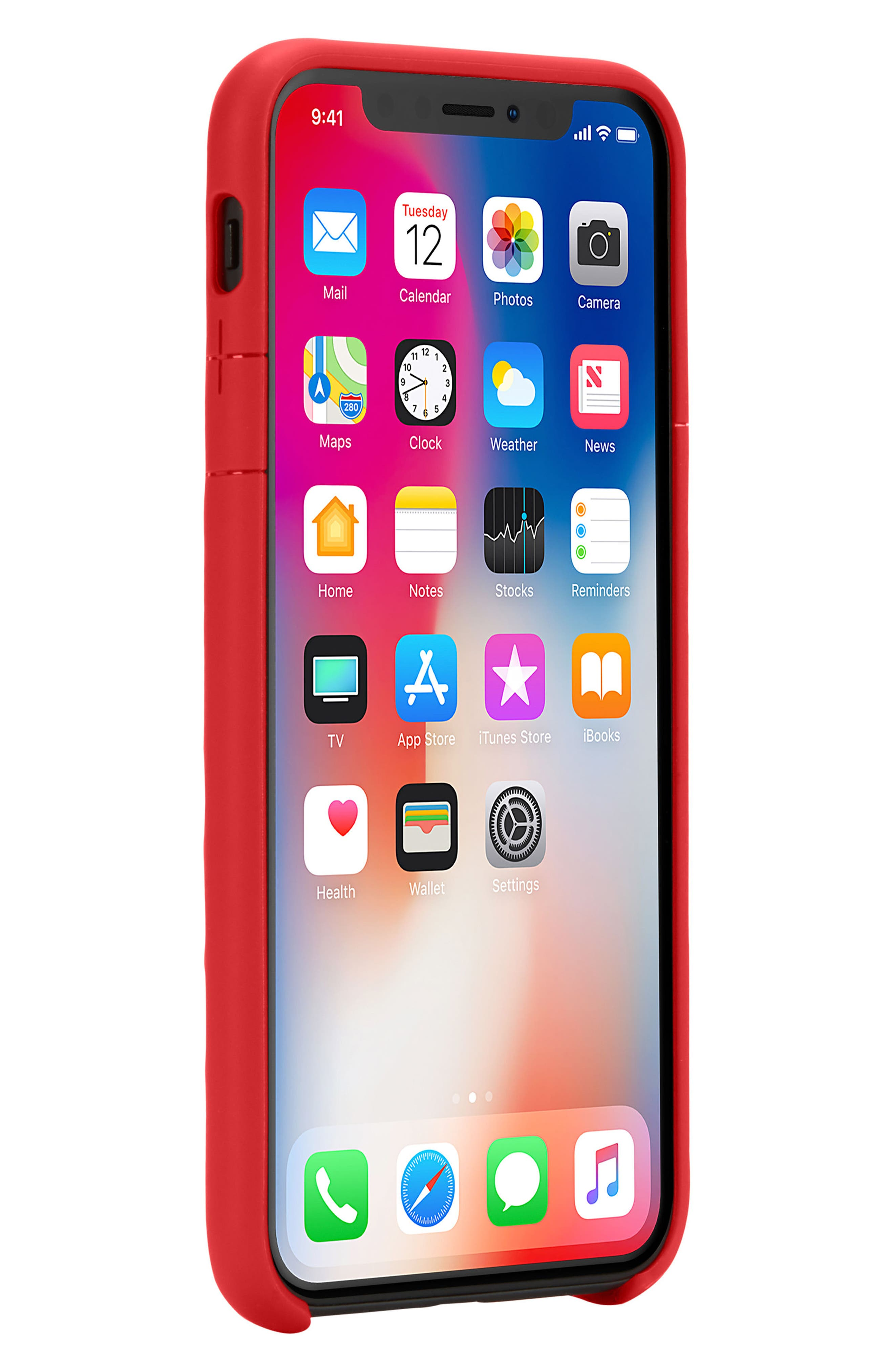 Lite iPhone iPhone X & Xs Case,                             Alternate thumbnail 10, color,