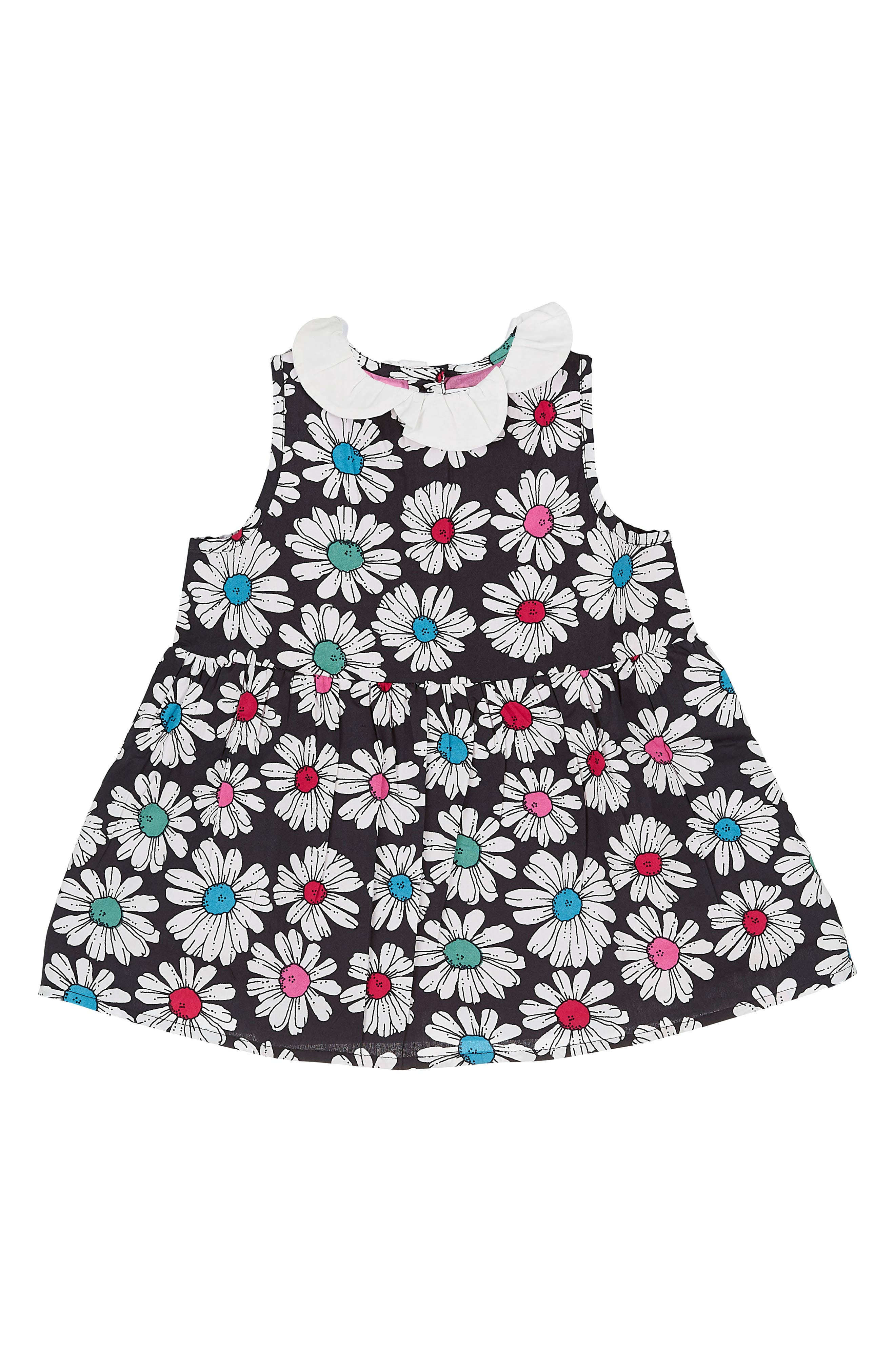 Floral Print Dress,                             Alternate thumbnail 2, color,                             001