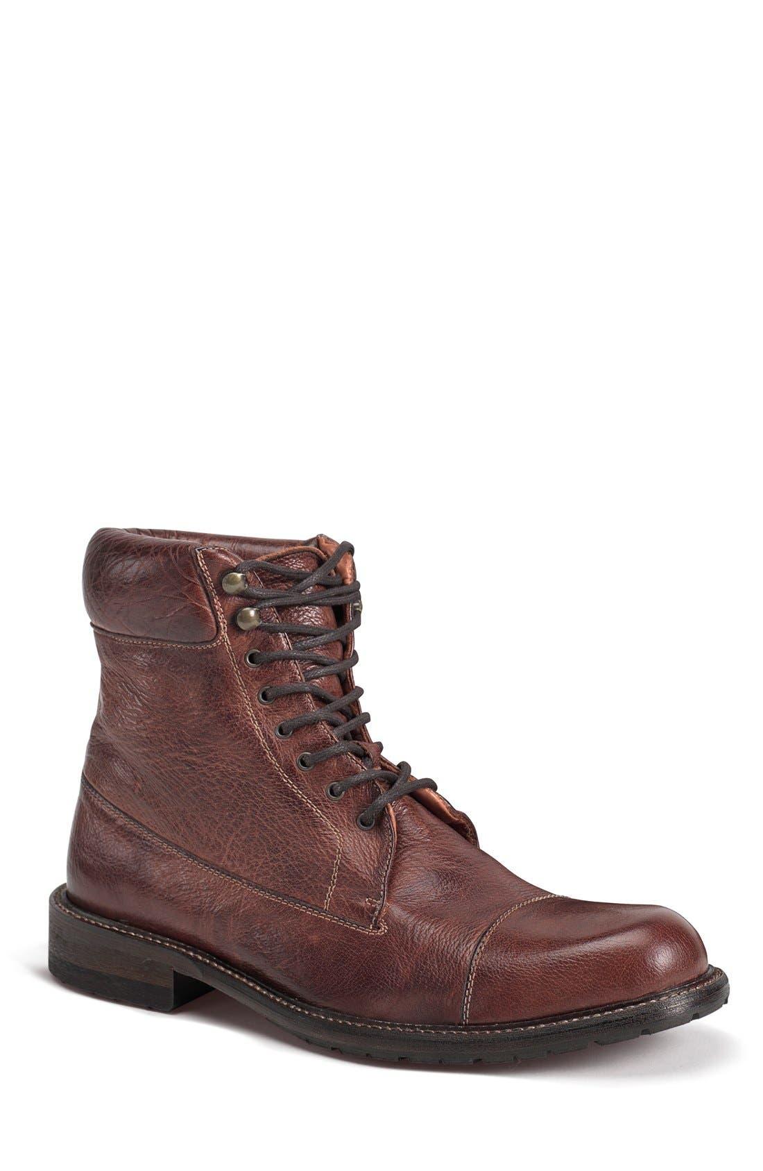 'Ronan' Cap Toe Boot,                             Main thumbnail 2, color,