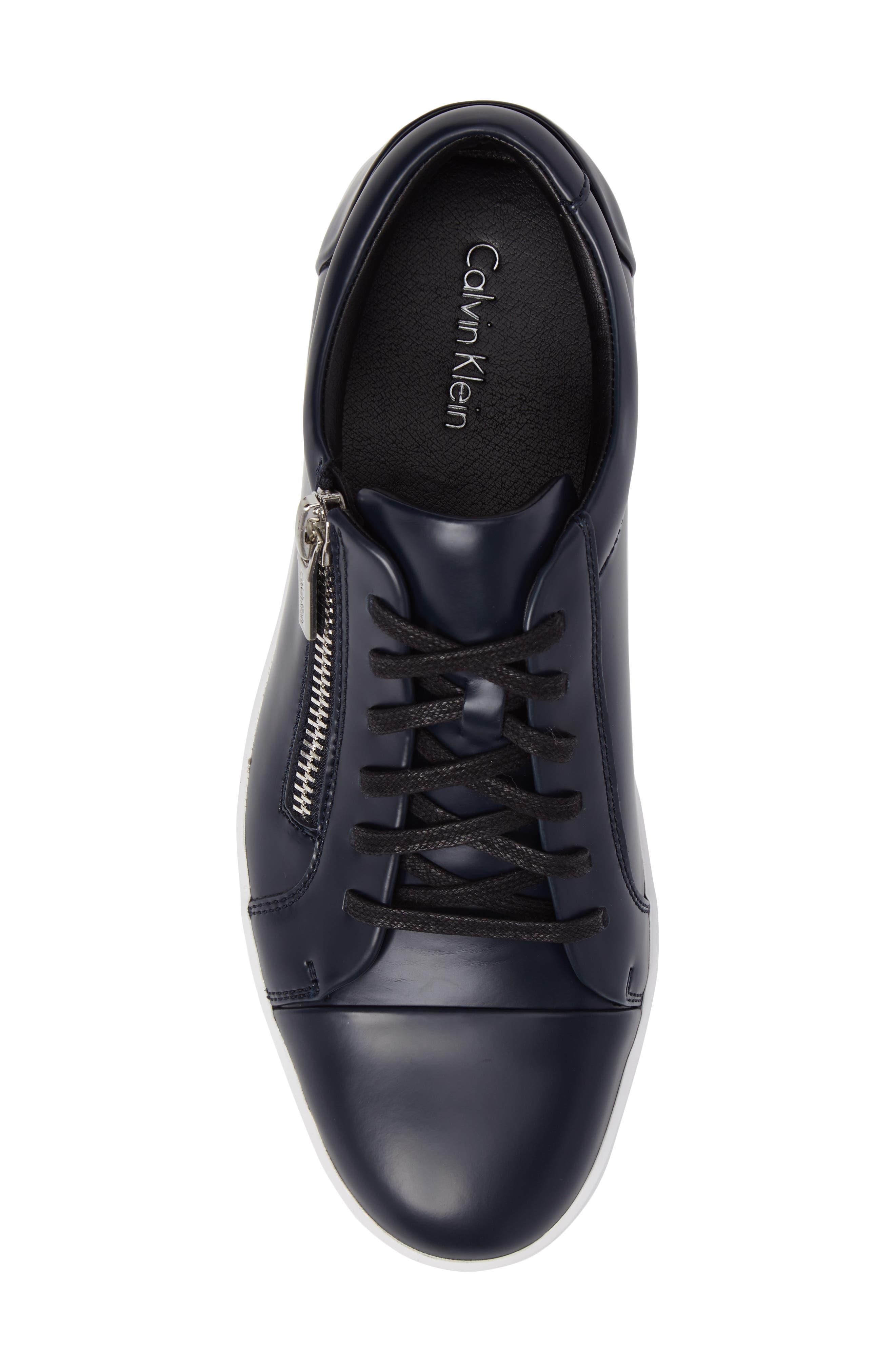 Ibrahim Cap-Toe Zip Sneaker,                             Alternate thumbnail 15, color,