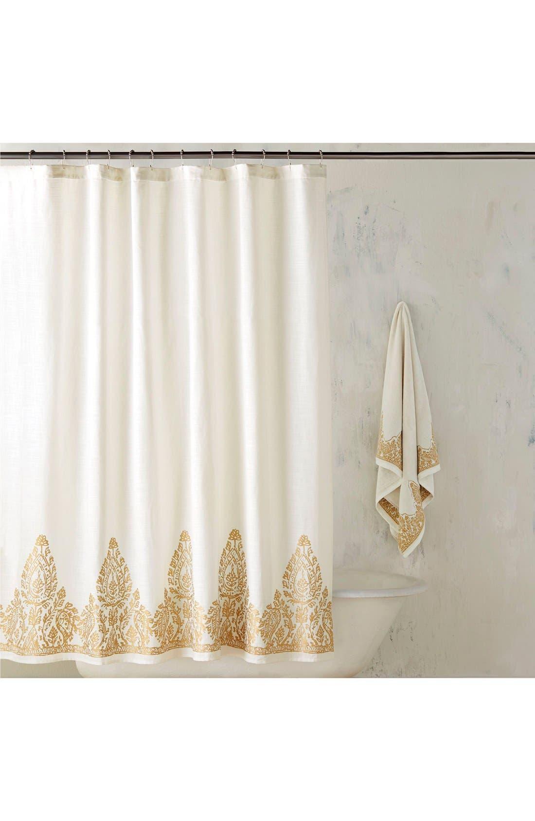 'Nadir' Shower Curtain,                         Main,                         color, 100