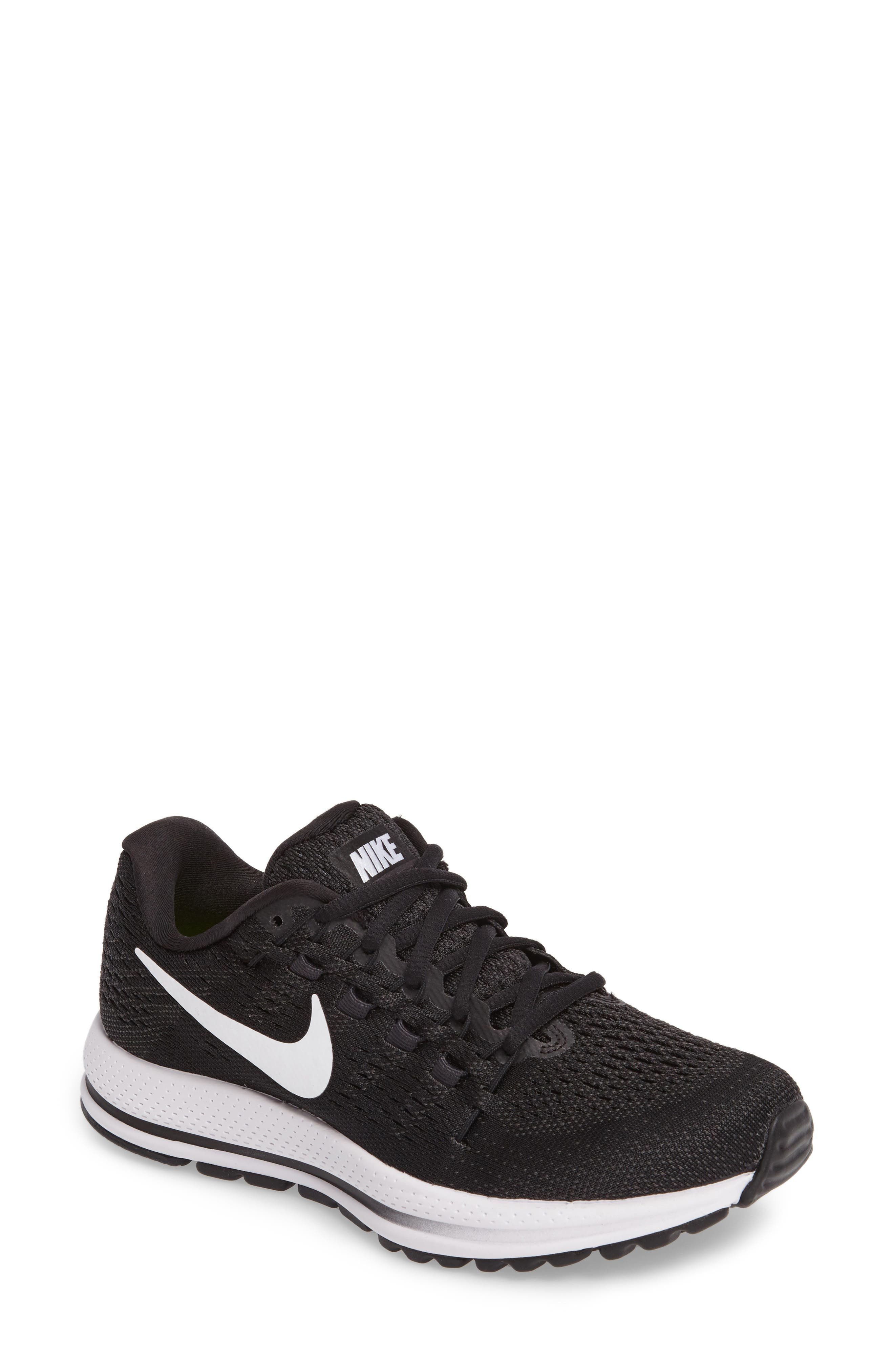 NIKE Air Zoom Vomero 12 Running Shoe, Main, color, 001