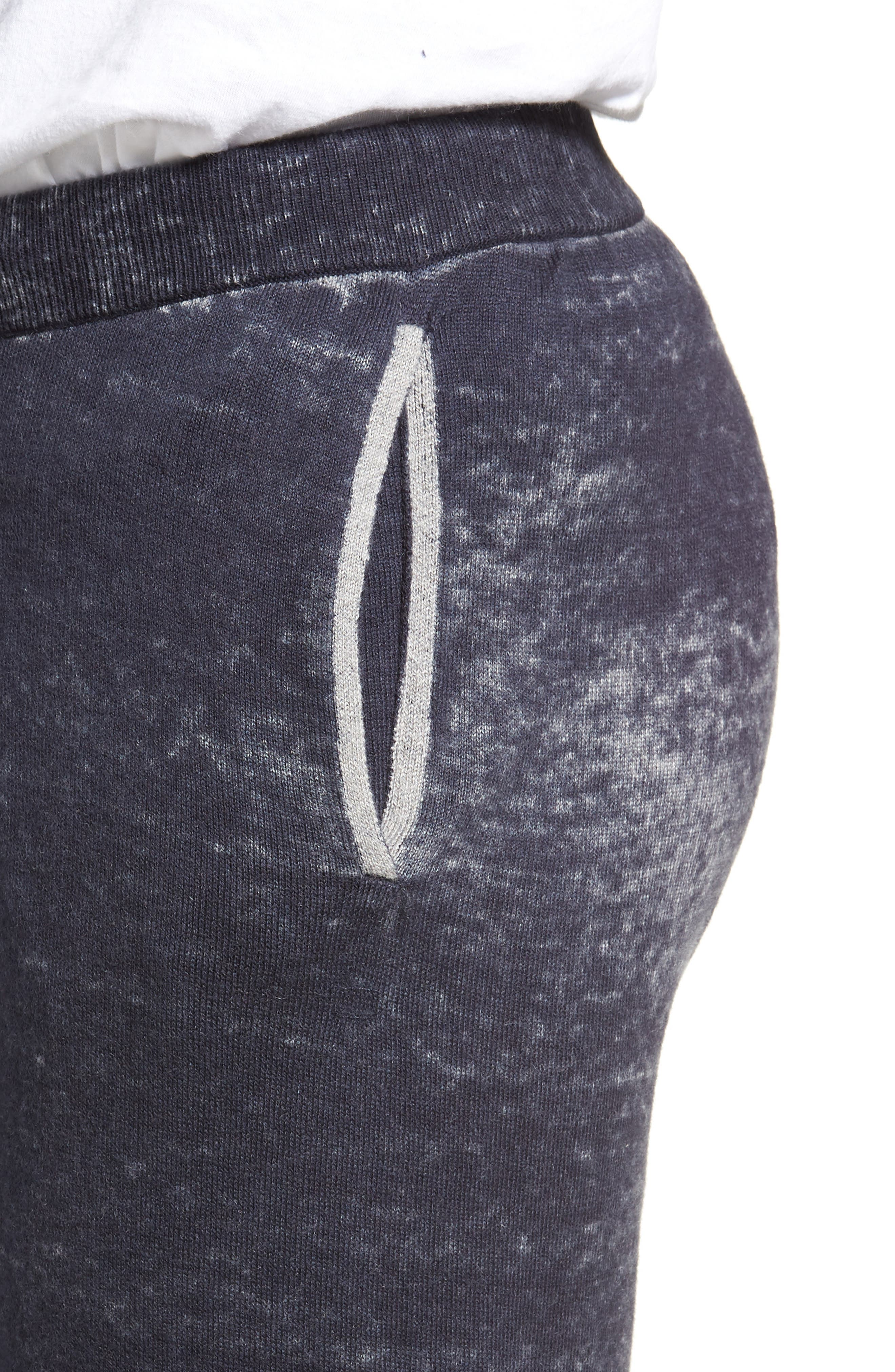 Kruse Rev Print Cash Sweatpants,                             Alternate thumbnail 4, color,                             MOONLESS NIGHT