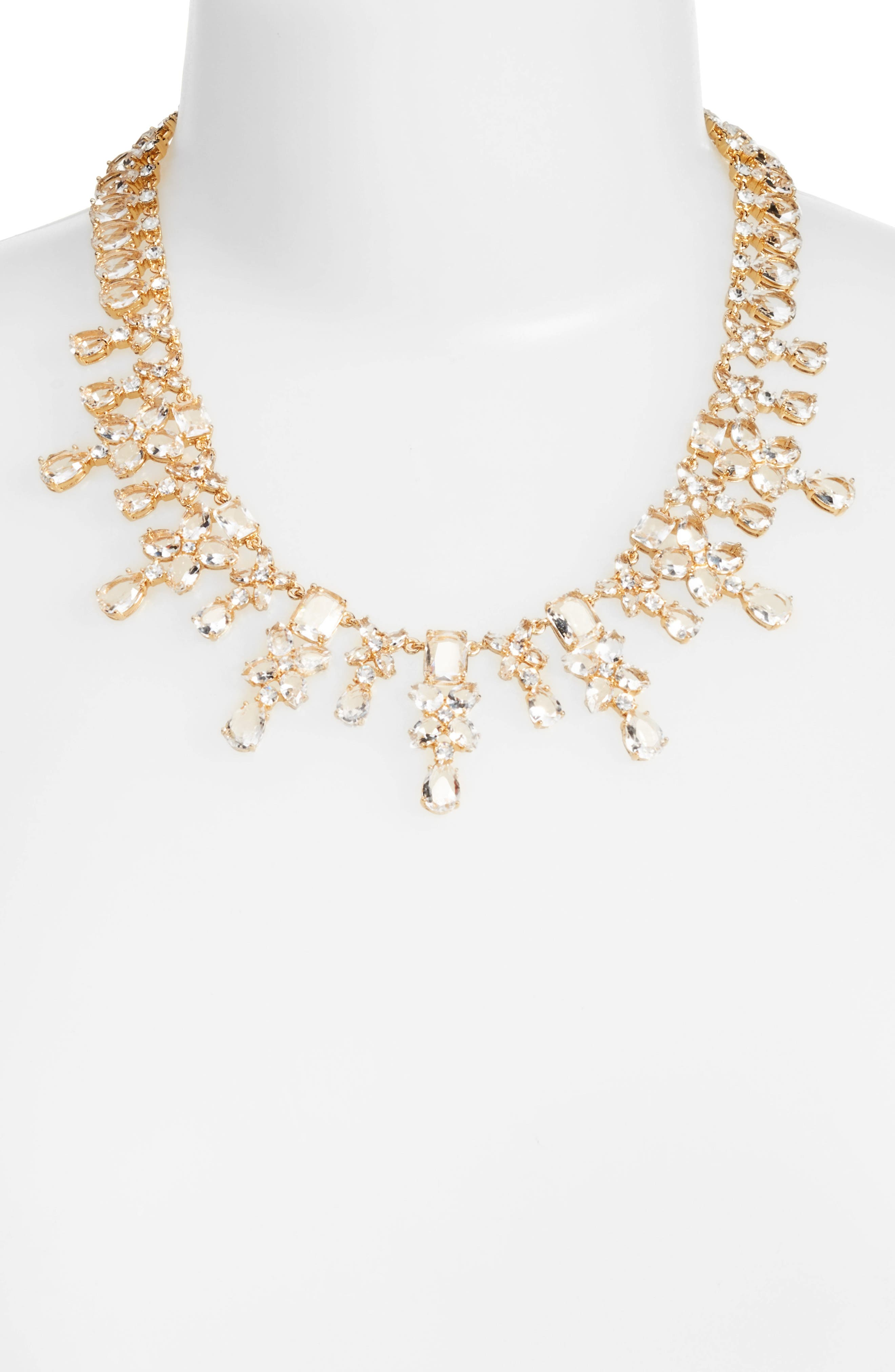take a shine crystal collar necklace,                             Alternate thumbnail 2, color,                             710