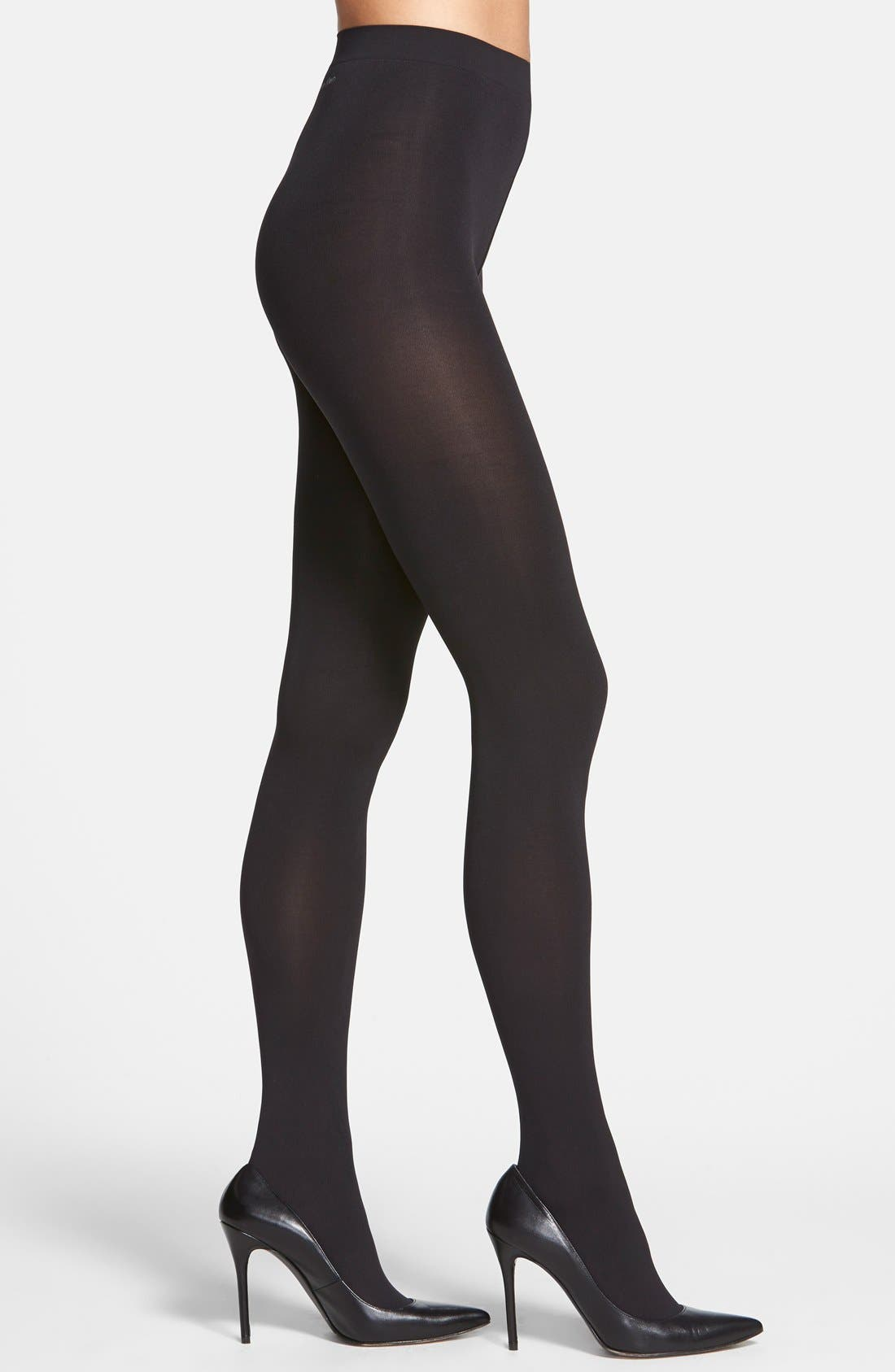 'Infinite' Opaque Tights,                             Main thumbnail 1, color,                             001