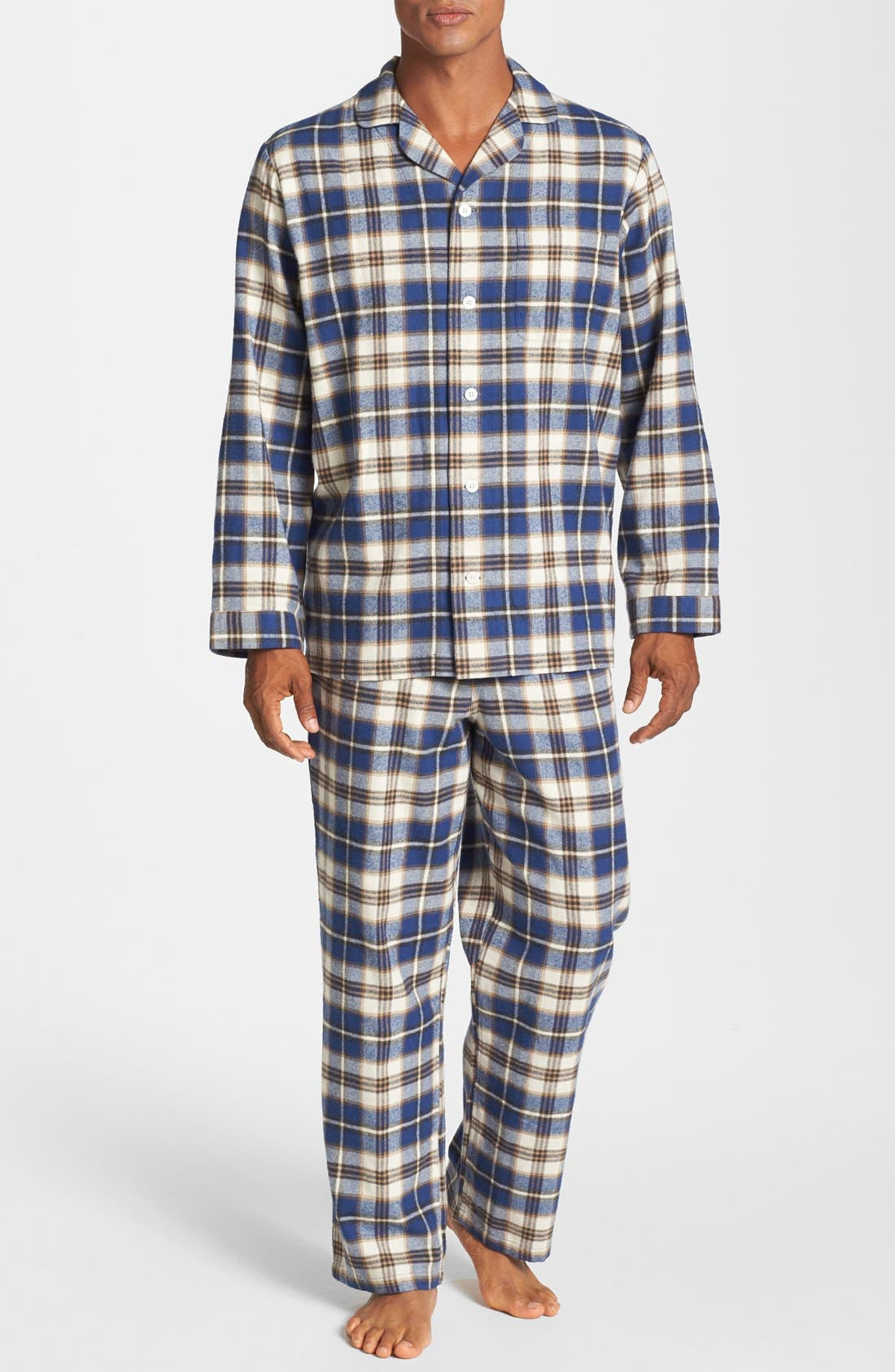 '824' Flannel Pajama Set,                             Main thumbnail 29, color,