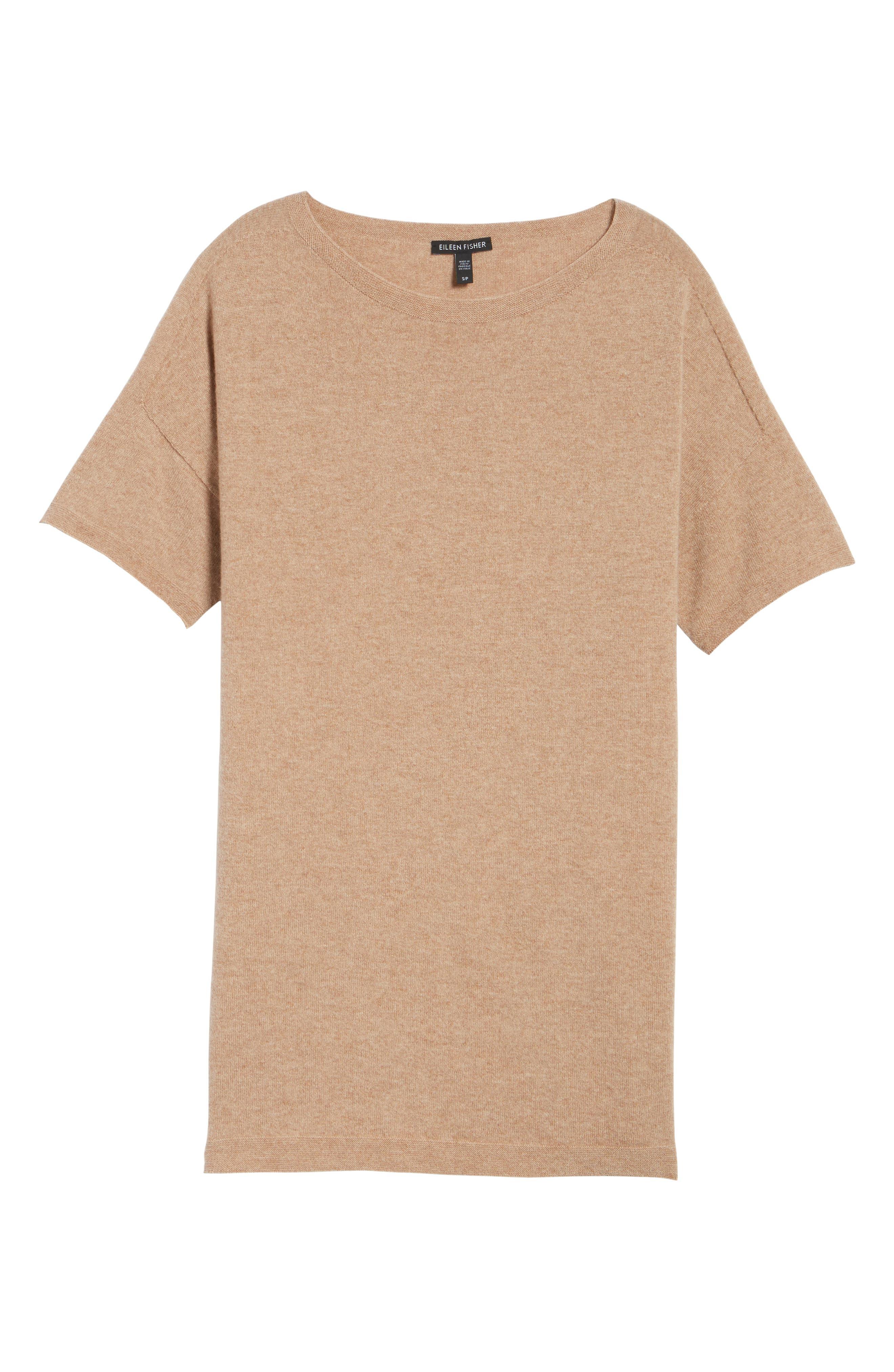 Cashmere Tunic Sweater,                             Alternate thumbnail 17, color,