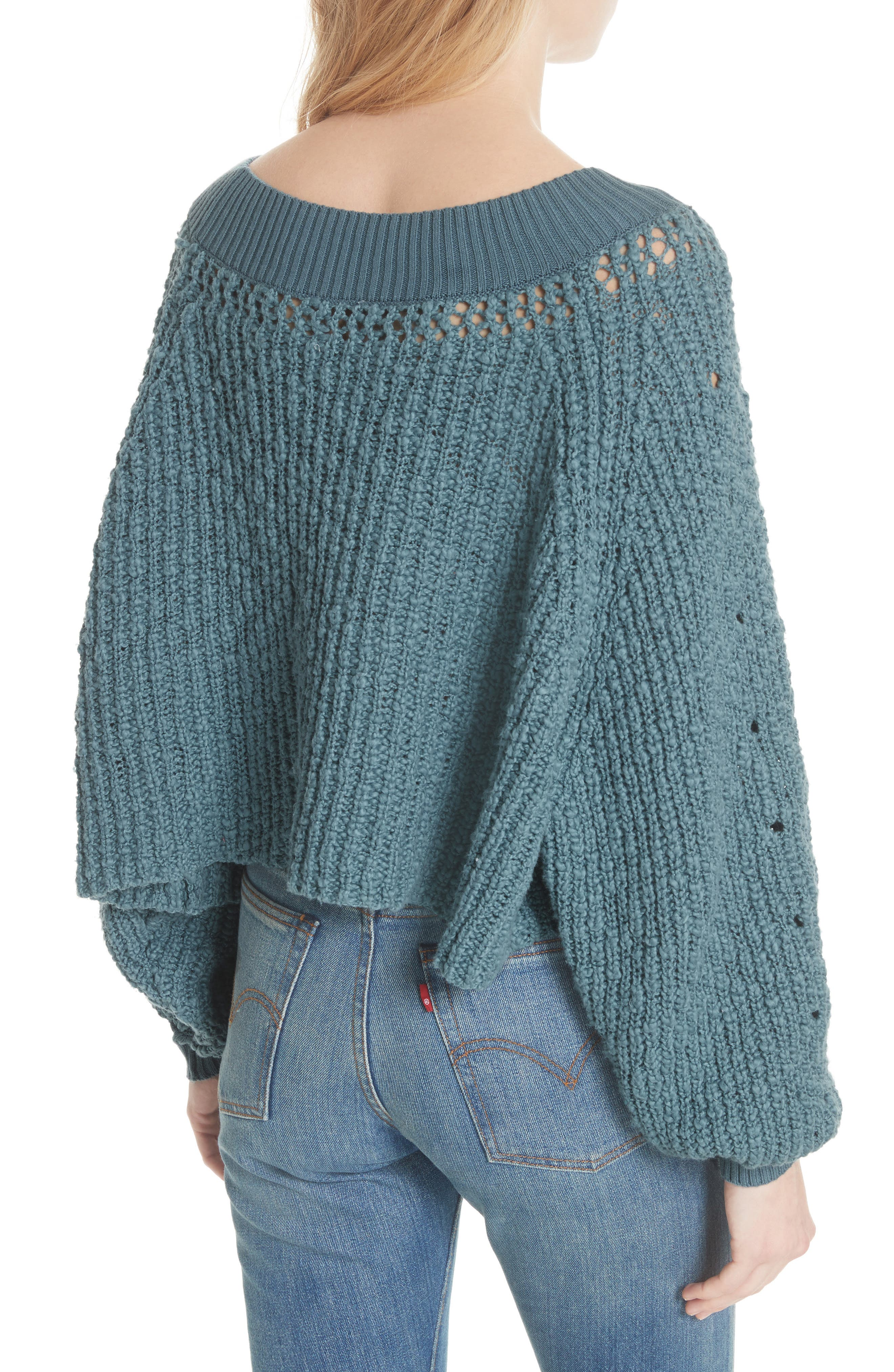 Pandora's Boatneck Sweater,                             Alternate thumbnail 6, color,