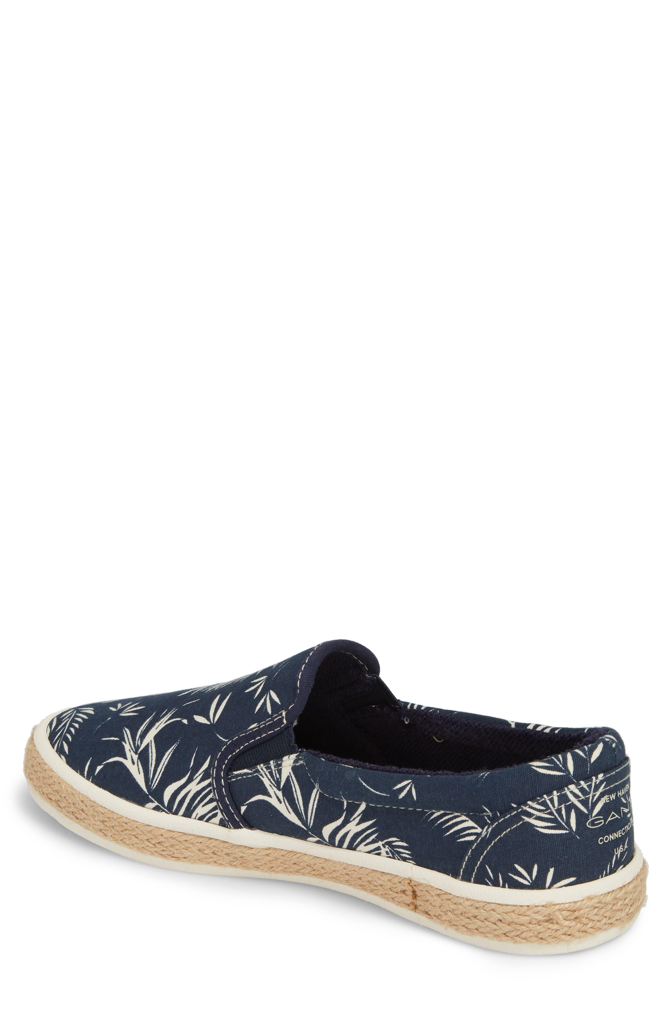 Master Espadrille Slip-On Sneaker,                             Alternate thumbnail 2, color,                             MULTI BLUE