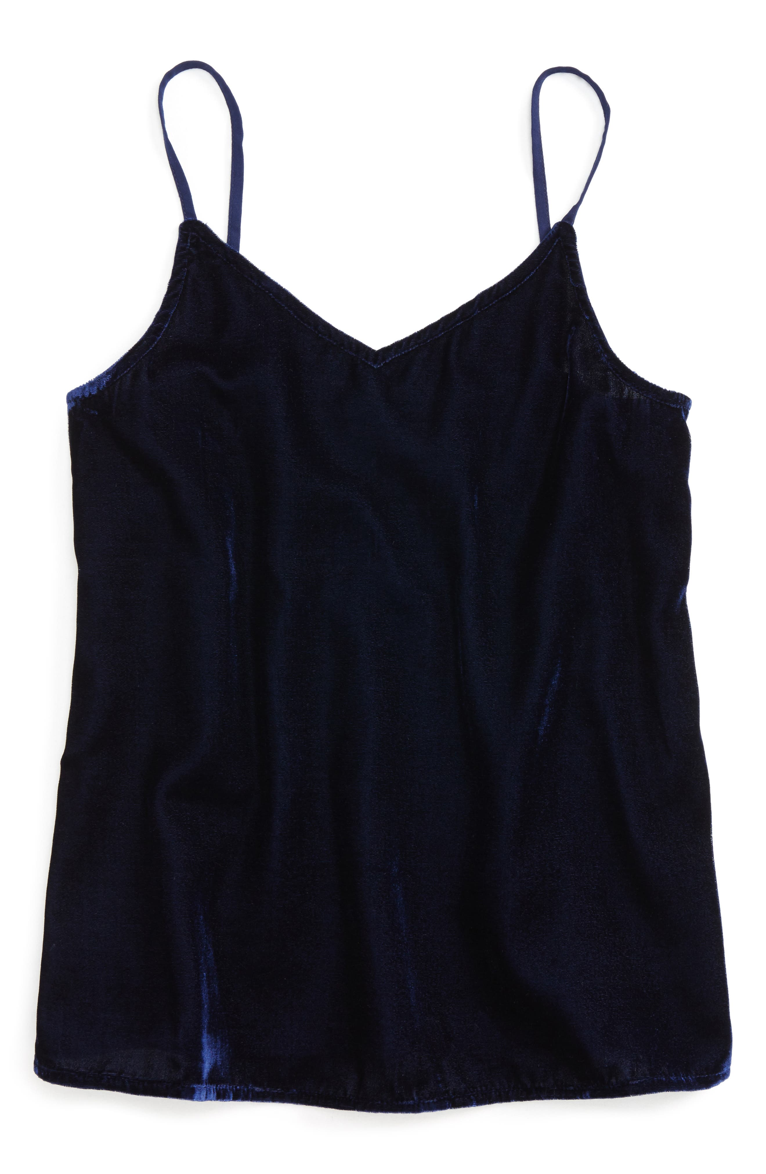 Velvet Tank,                             Main thumbnail 1, color,                             410