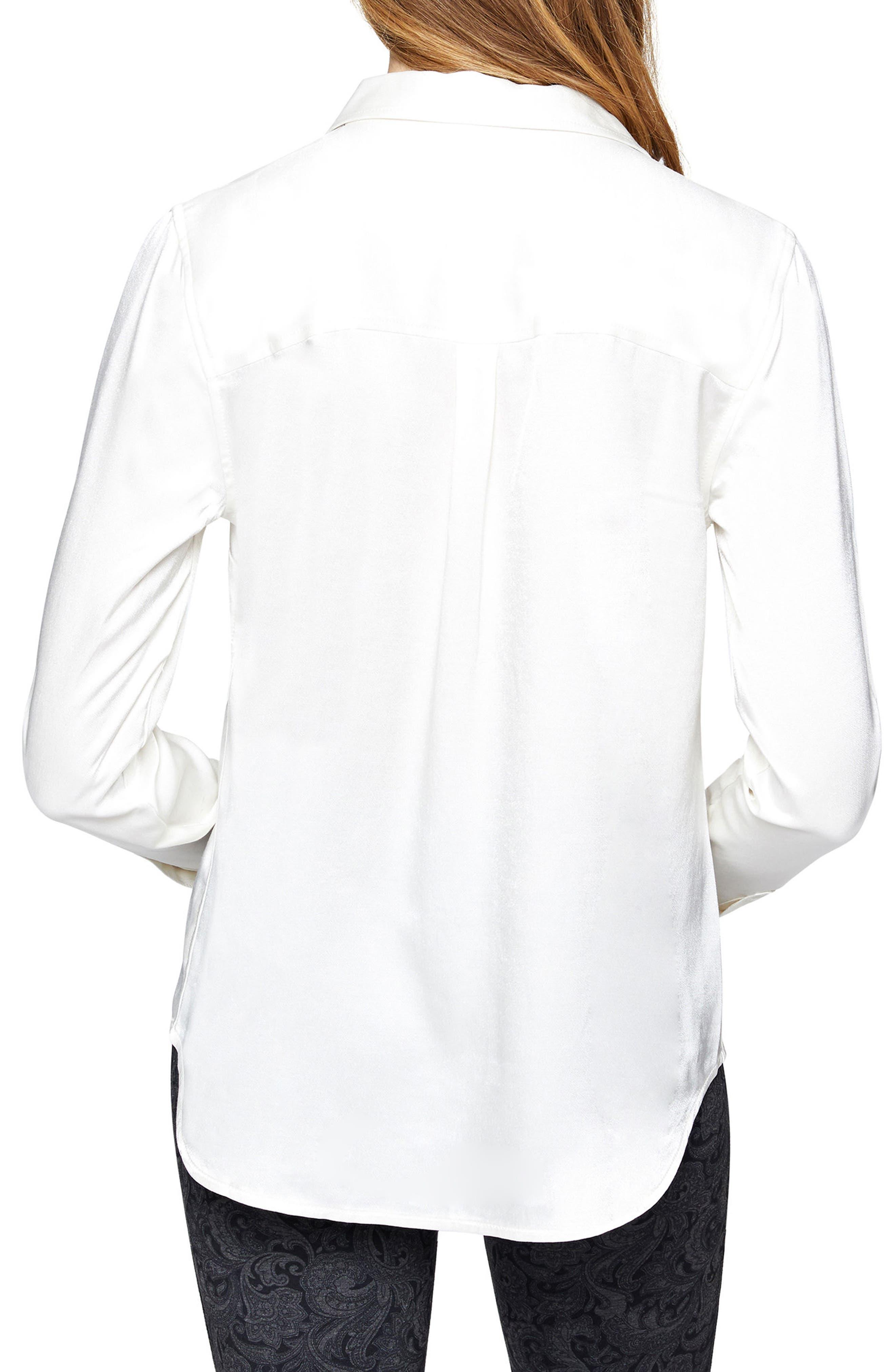 Dreamer Tie Front Shirt,                             Alternate thumbnail 4, color,