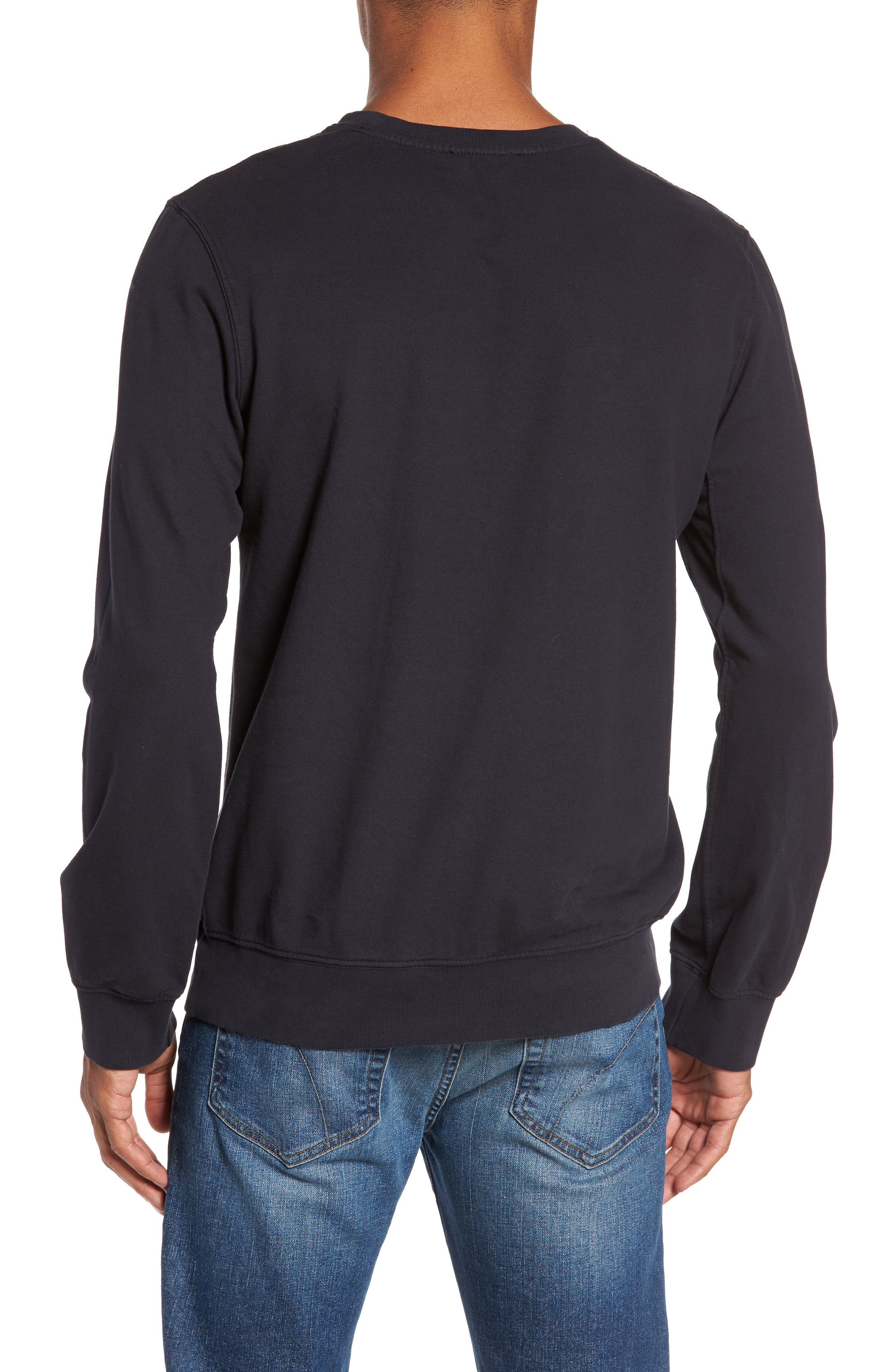 French Terry Sweatshirt,                             Alternate thumbnail 6, color,
