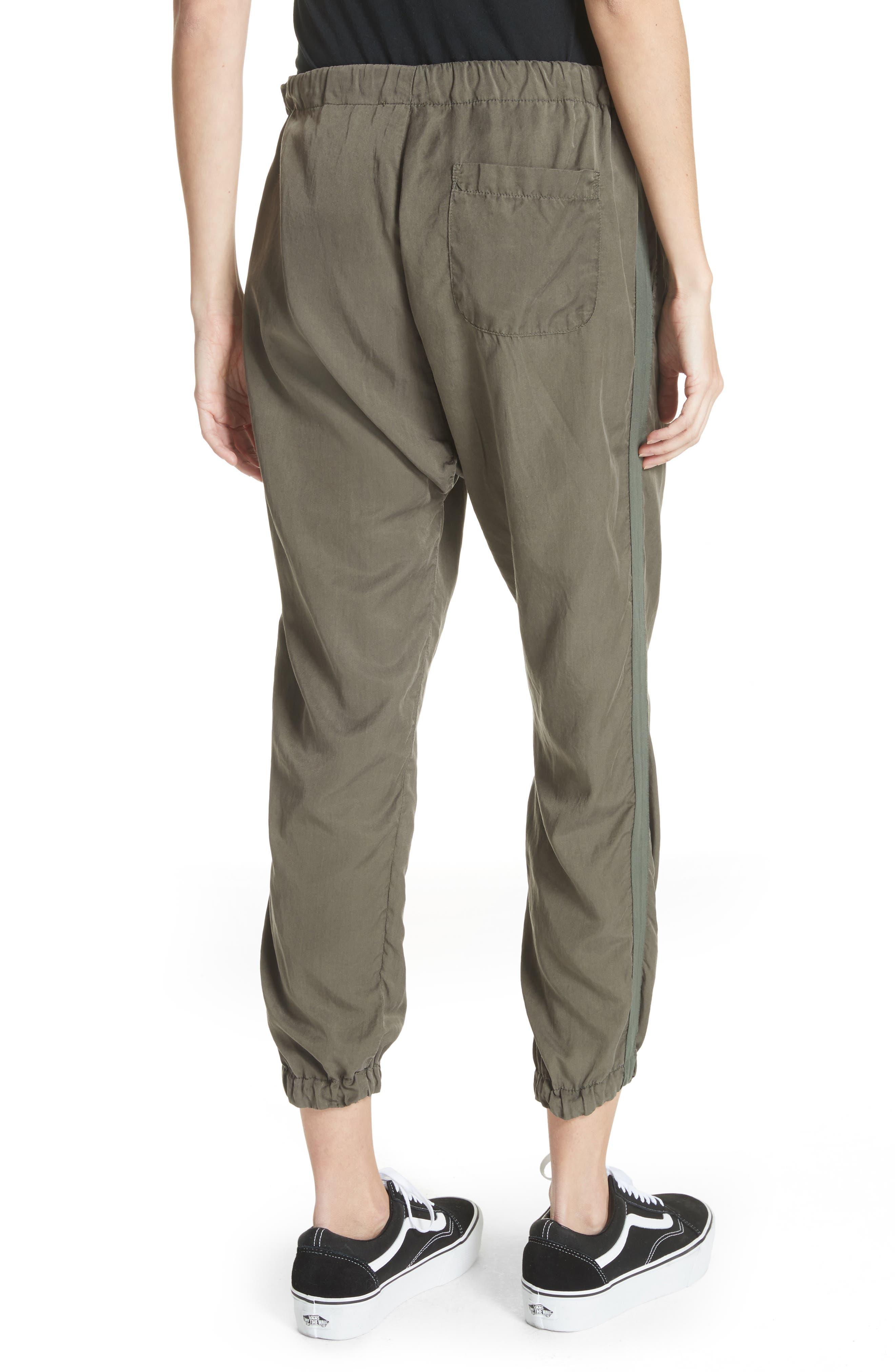 Silk Blend Track Pants,                             Alternate thumbnail 2, color,                             346