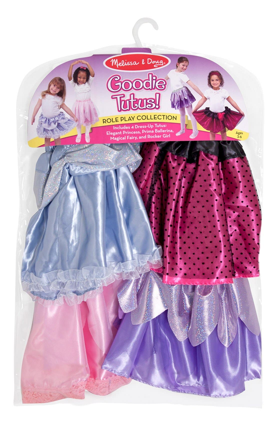 Dress-Up Tutu Set,                         Main,                         color, MULTI