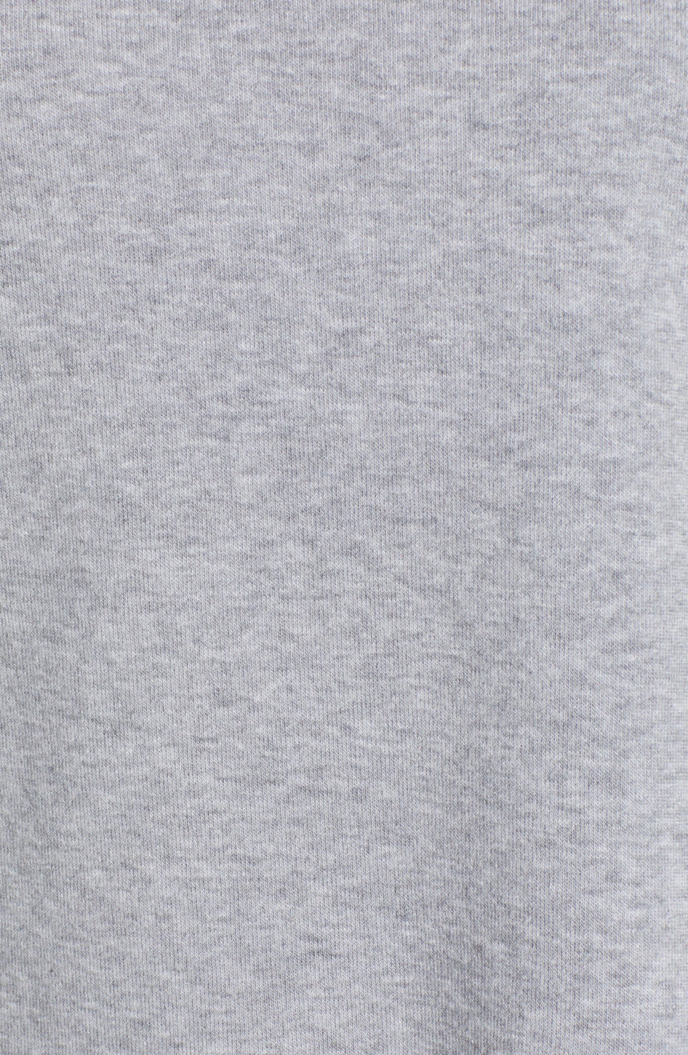 Reversible Graphic Sweatshirt,                             Alternate thumbnail 6, color,                             HEATHER GREY
