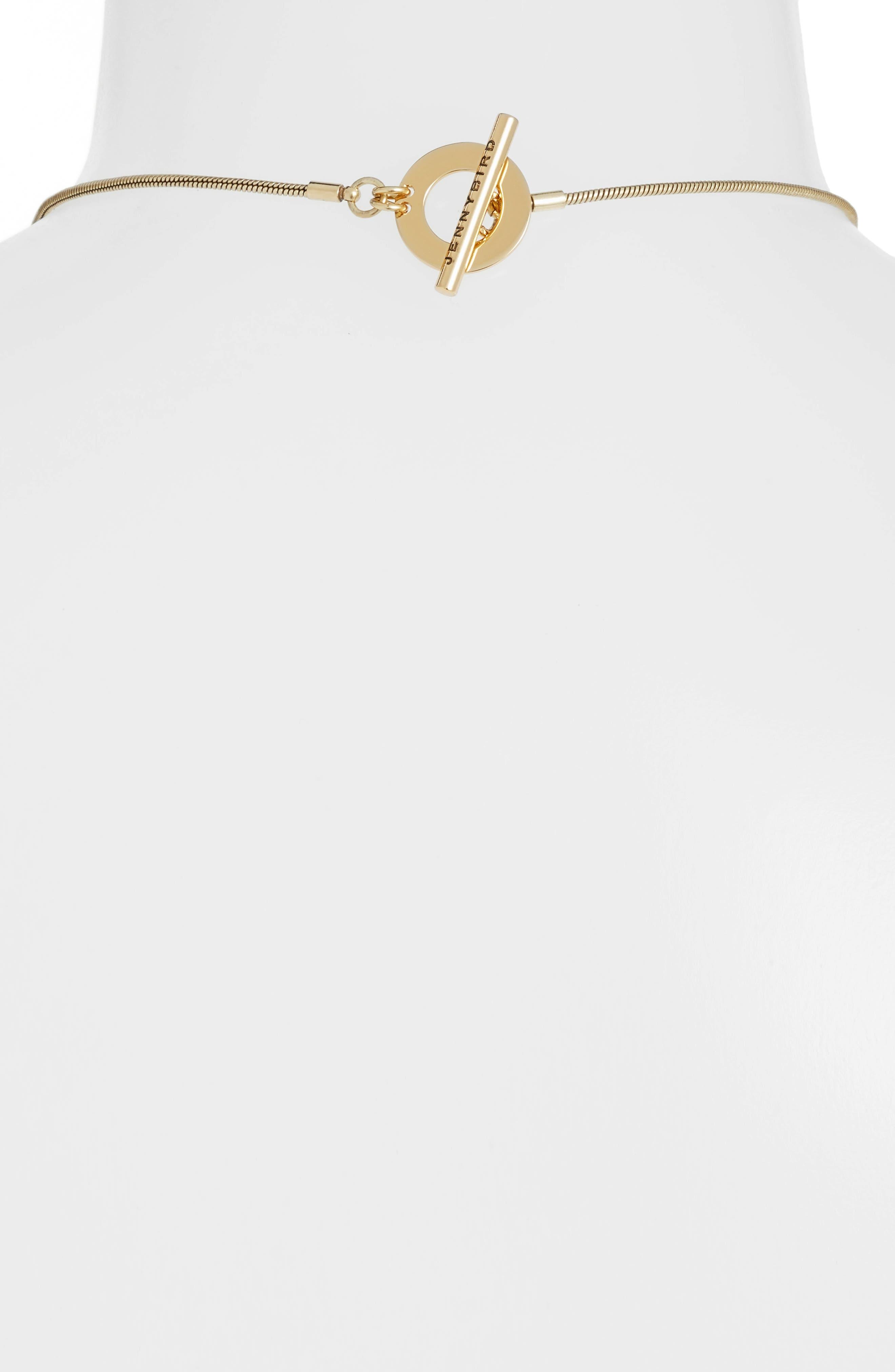 Sofia Rises Pendant Necklace,                             Alternate thumbnail 3, color,                             GOLD