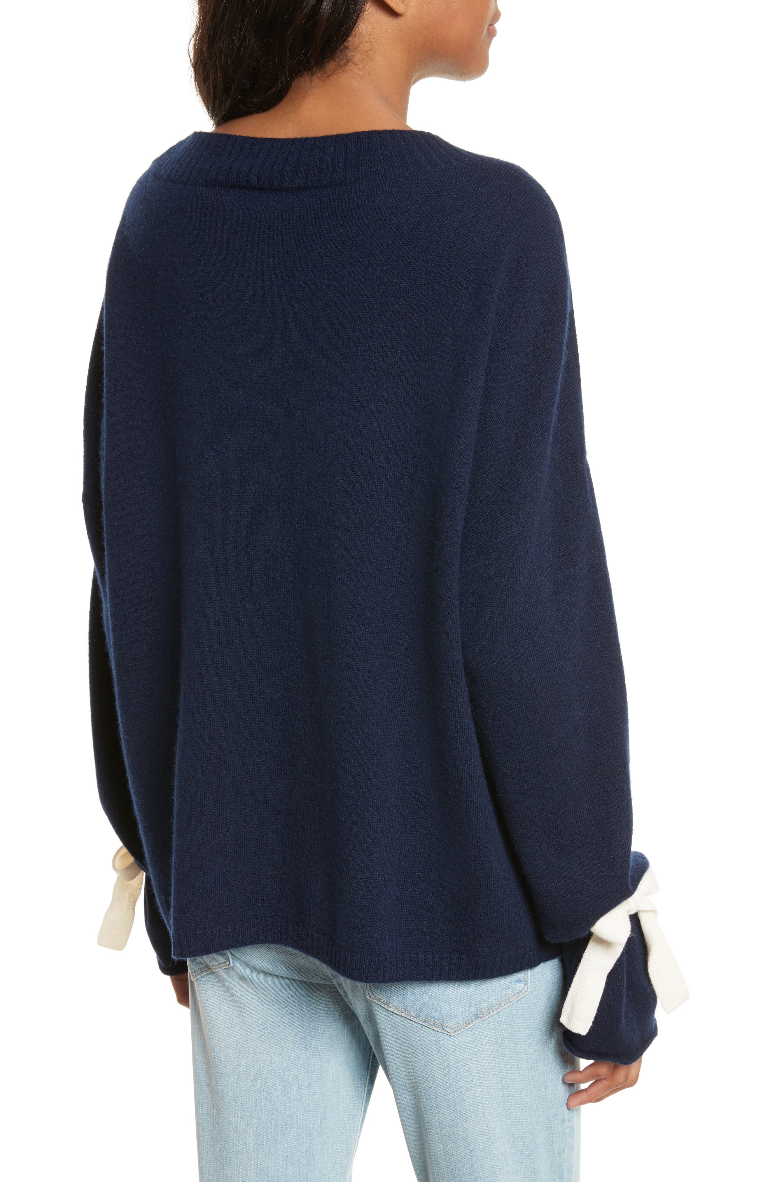Tie Cuff Sweater,                             Alternate thumbnail 2, color,                             411