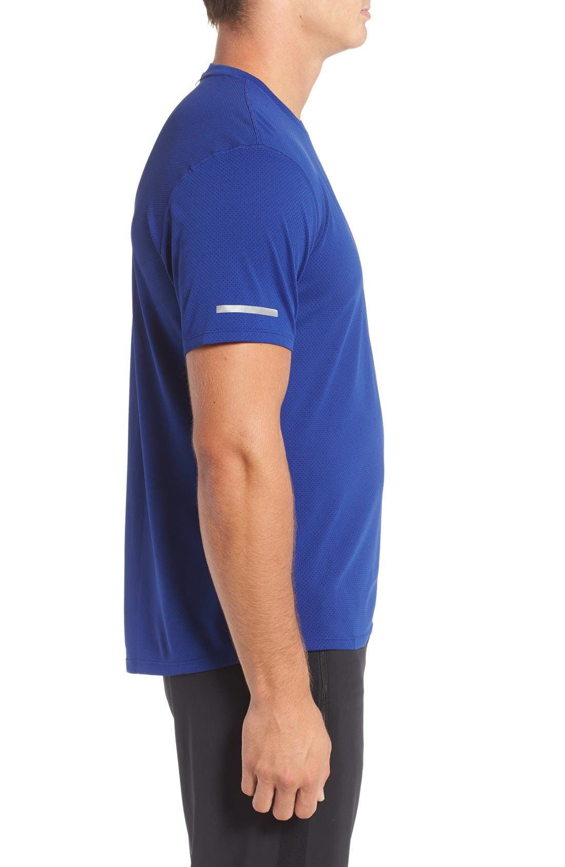 'Contour' Mesh Dri-FIT Running T-Shirt,                             Alternate thumbnail 12, color,