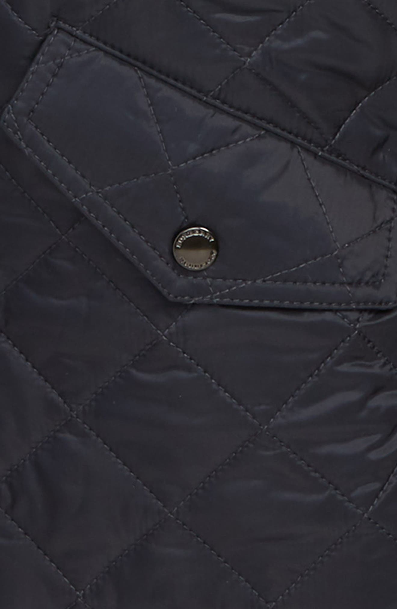 Ilana Quilted Water Repellent Jacket,                             Alternate thumbnail 2, color,                             BRIGHT NAVY