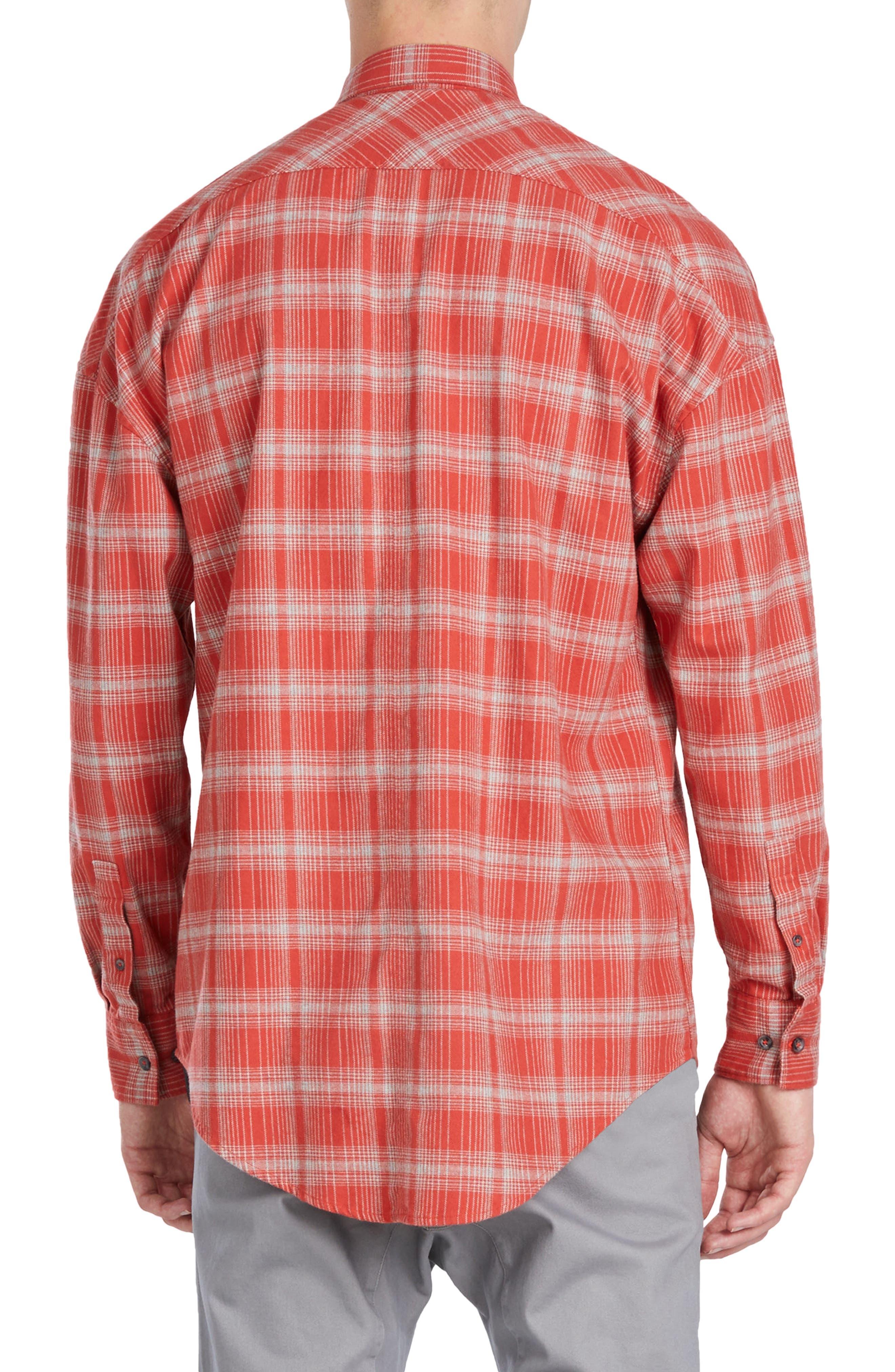 Rugger Plaid Sport Shirt,                             Alternate thumbnail 2, color,                             641