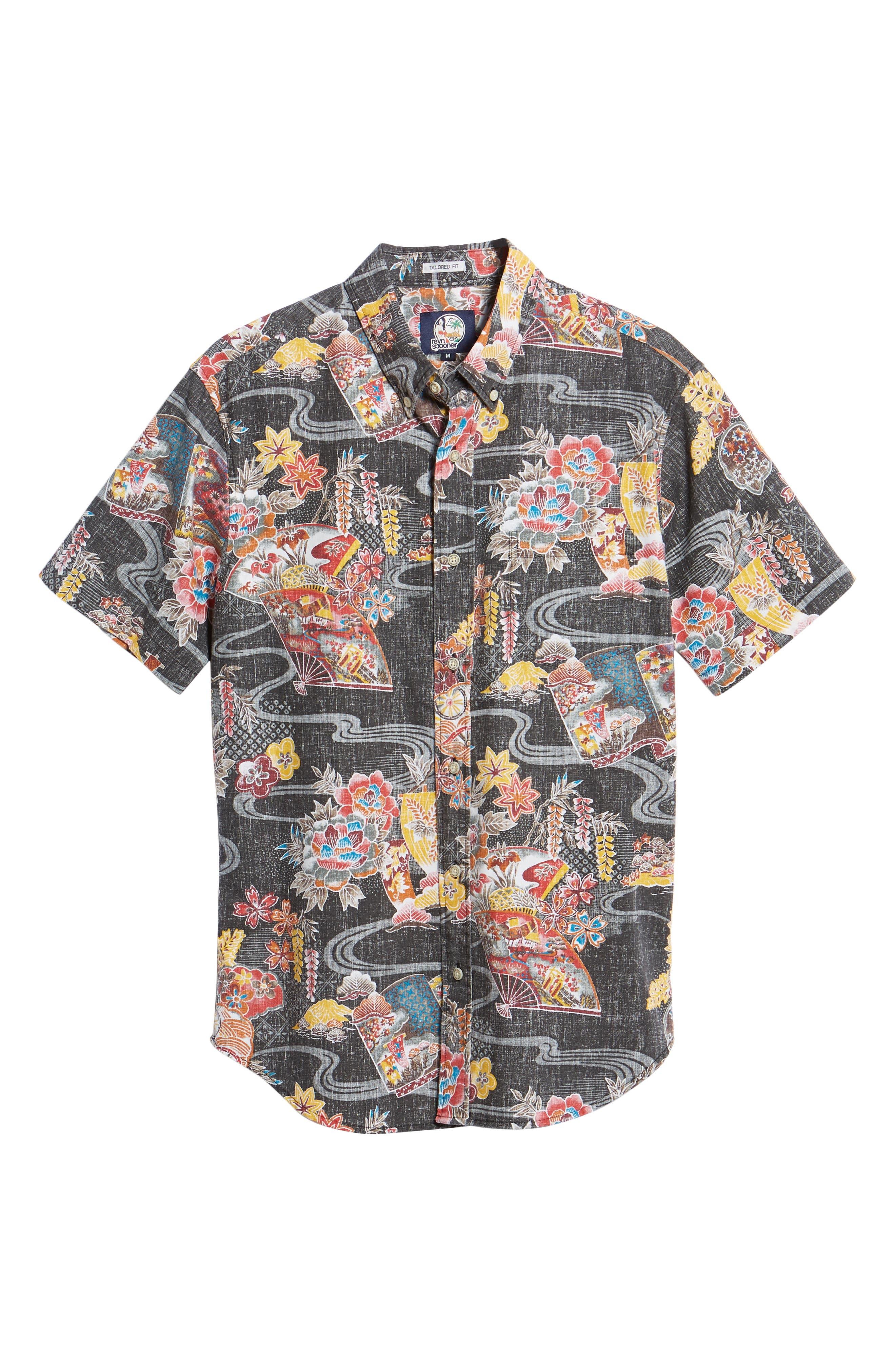 Mizu No Kokoro Regular Fit Sport Shirt,                             Alternate thumbnail 5, color,                             001