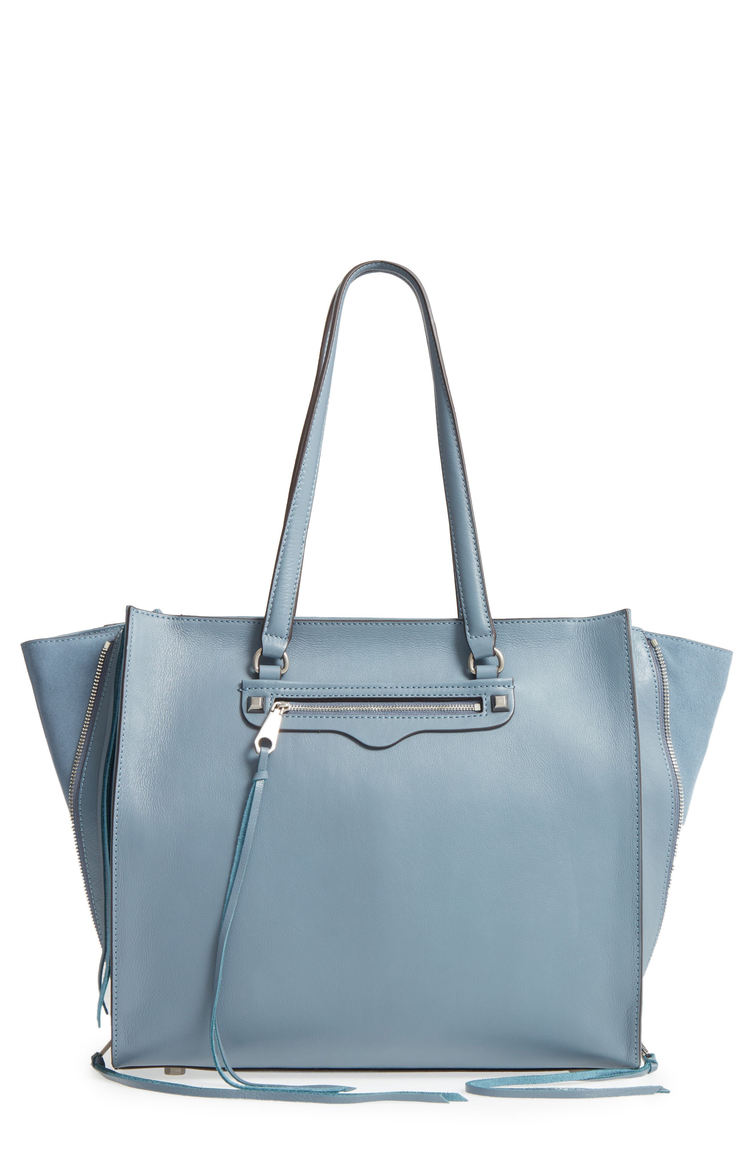 Always On Regan Leather Tote,                             Main thumbnail 1, color,                             400