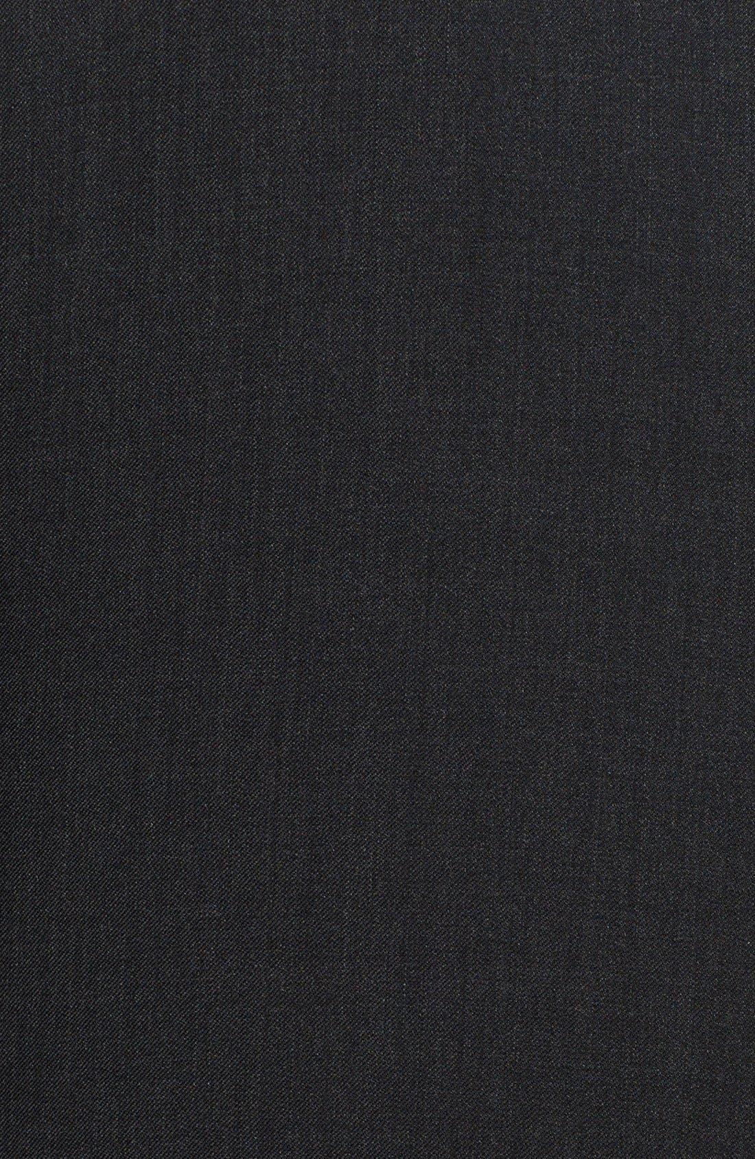 'G-Line' Trim Fit Solid Wool Suit,                             Alternate thumbnail 13, color,                             020
